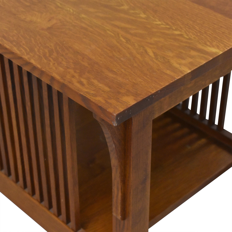 shop Stickley Furniture Mission-Style End Table Stickley Furniture Tables