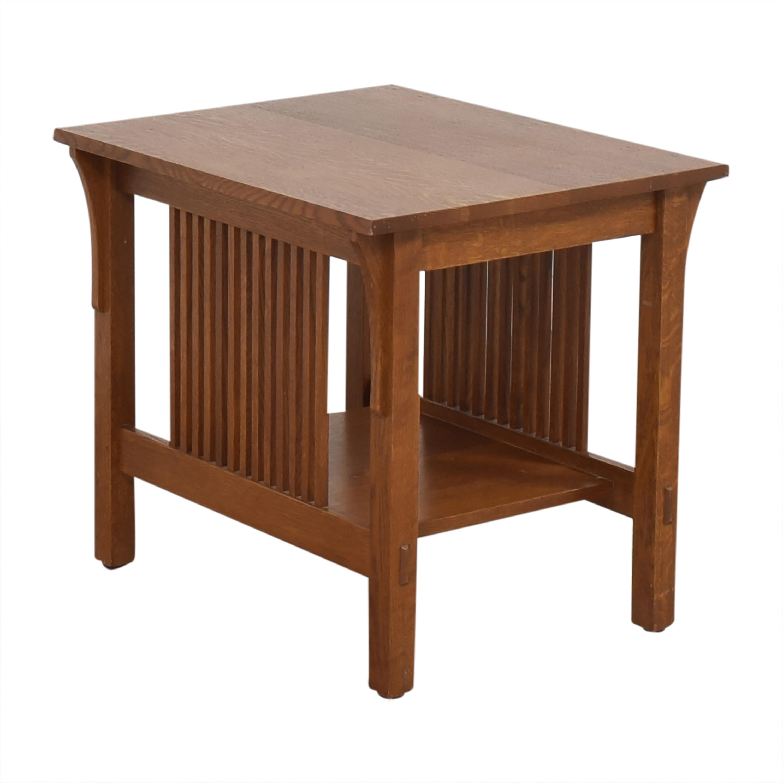 shop Stickley Furniture Mission-Style End Table Stickley Furniture