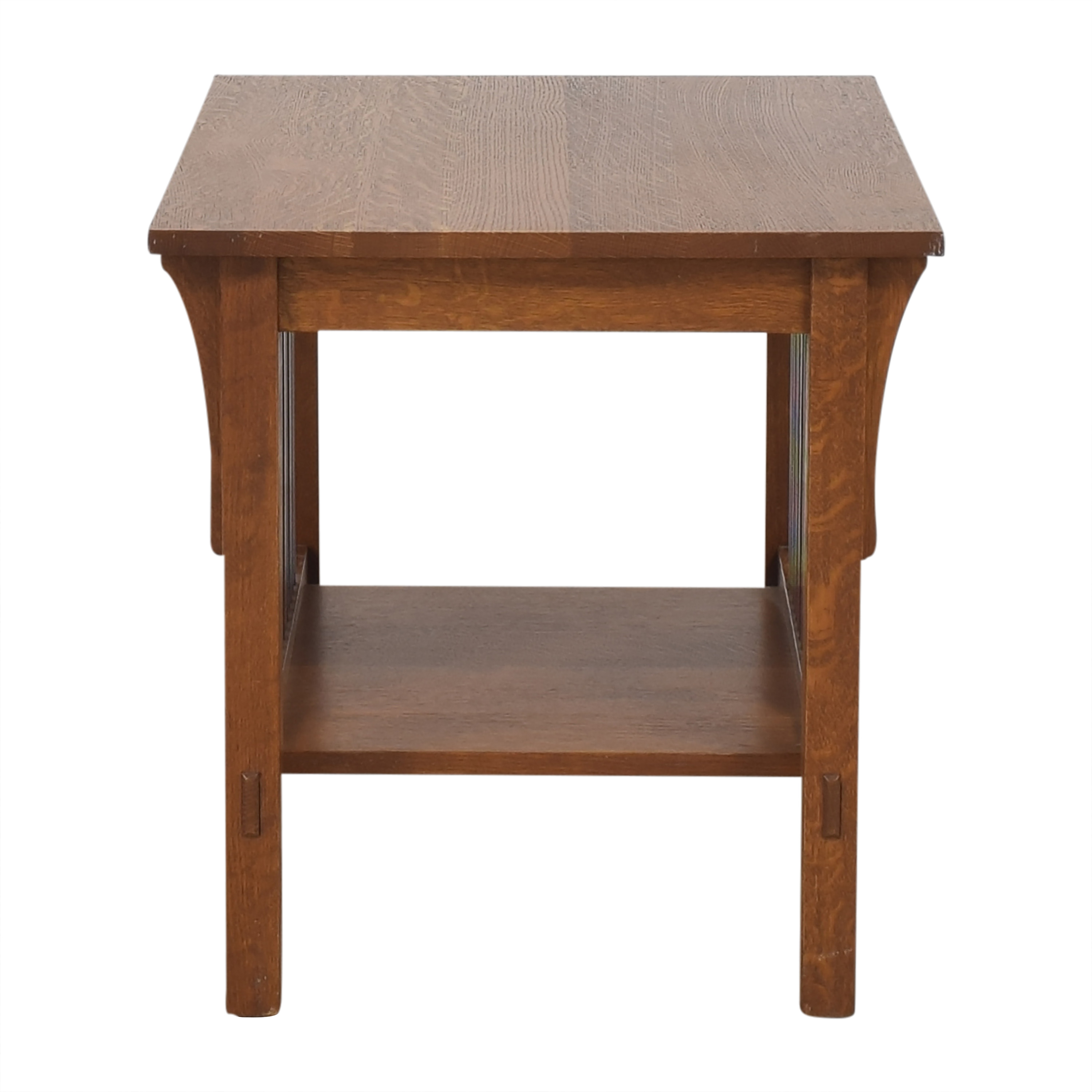 Stickley Furniture Stickley Furniture Mission-Style End Table brown