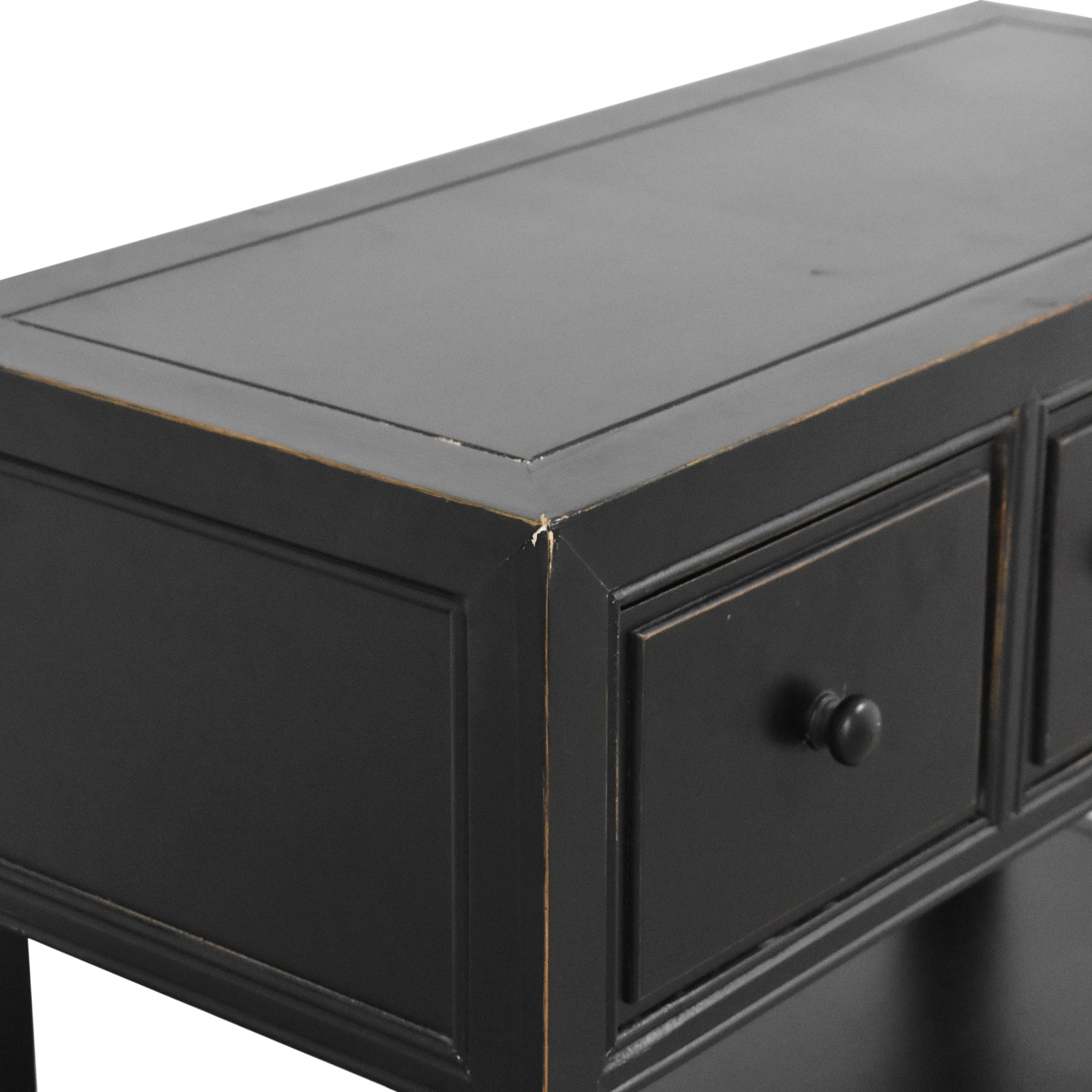 Three Drawer Entry Table Accent Tables