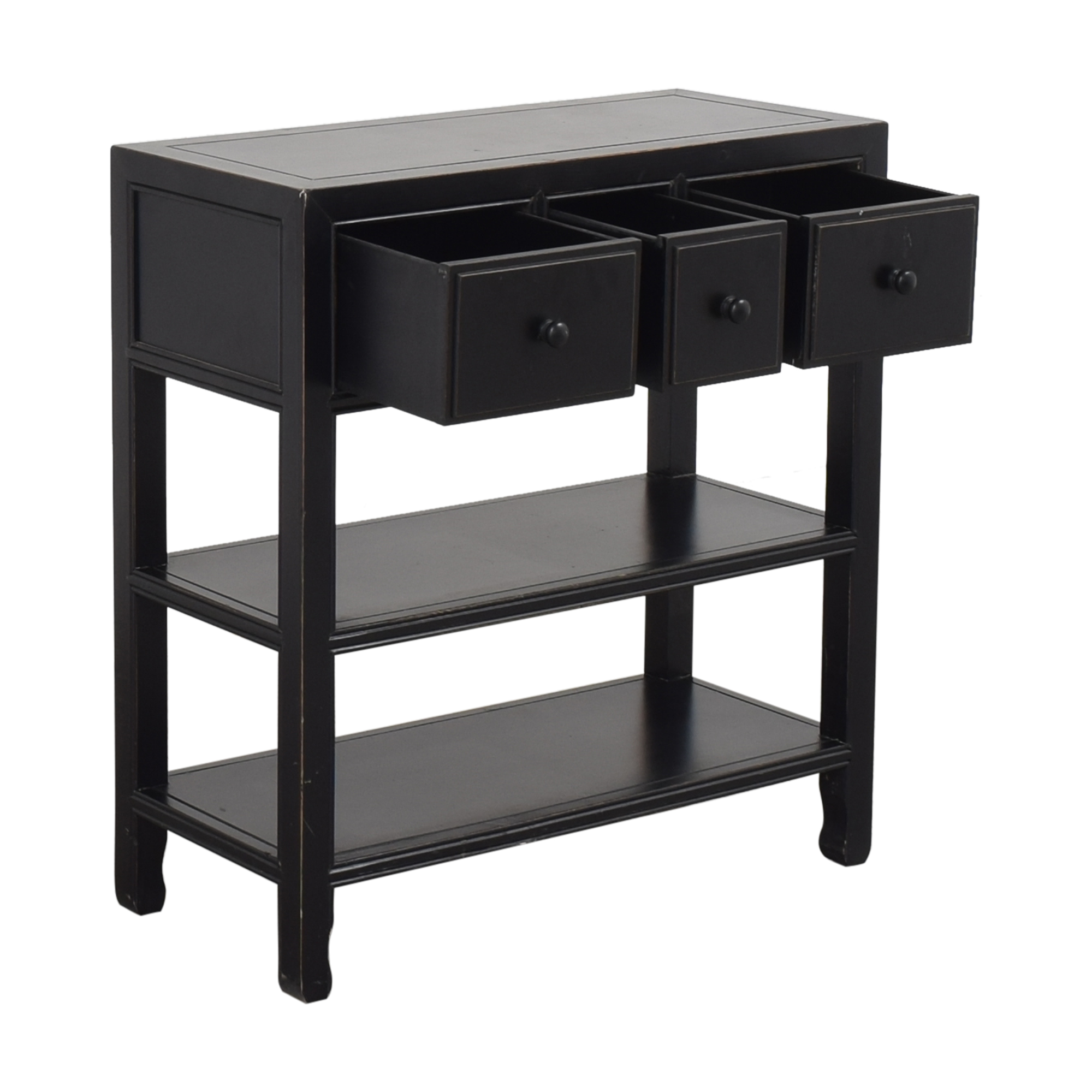 buy Three Drawer Entry Table  Accent Tables