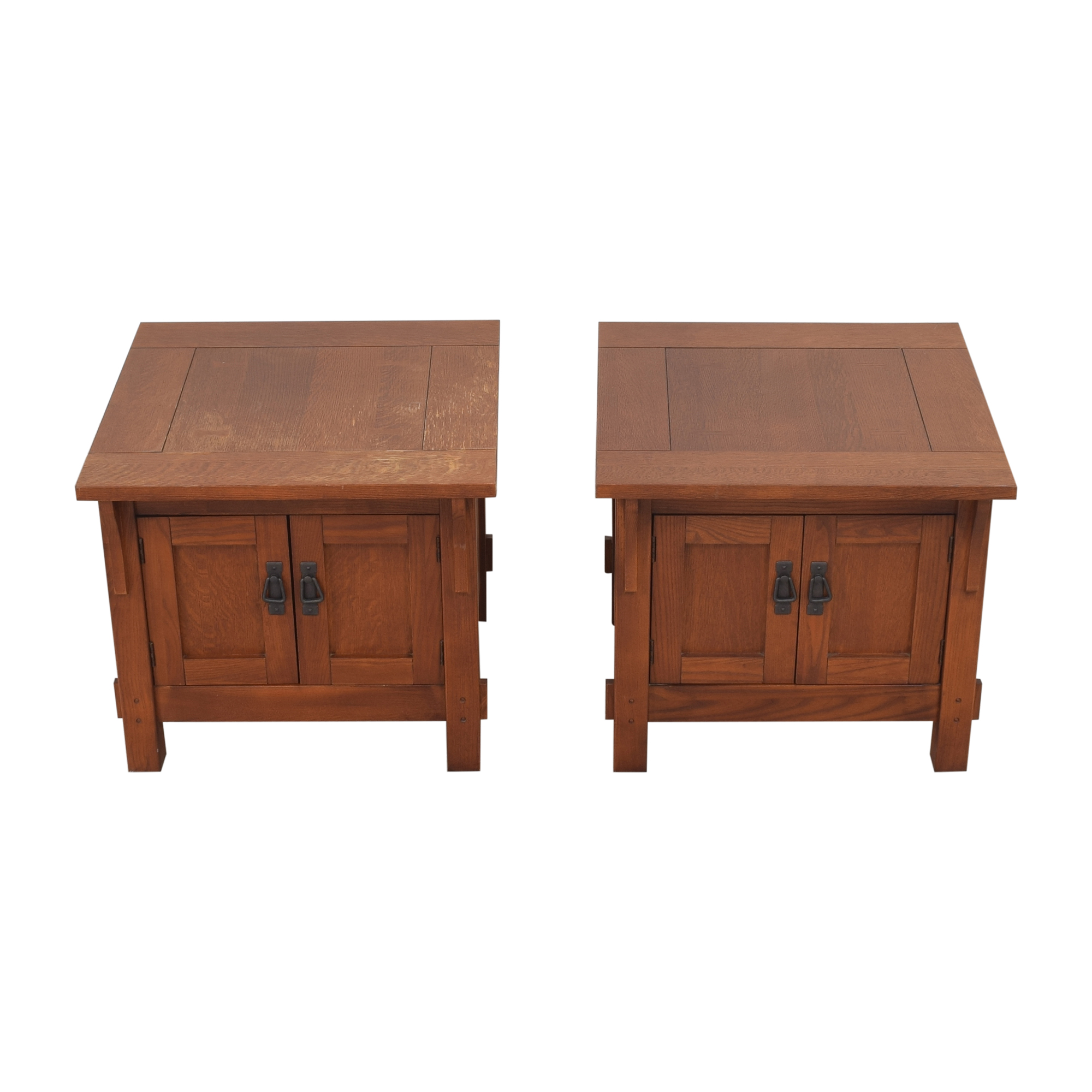 Bassett Furniture Bassett Furniture Two Door End Tables ma