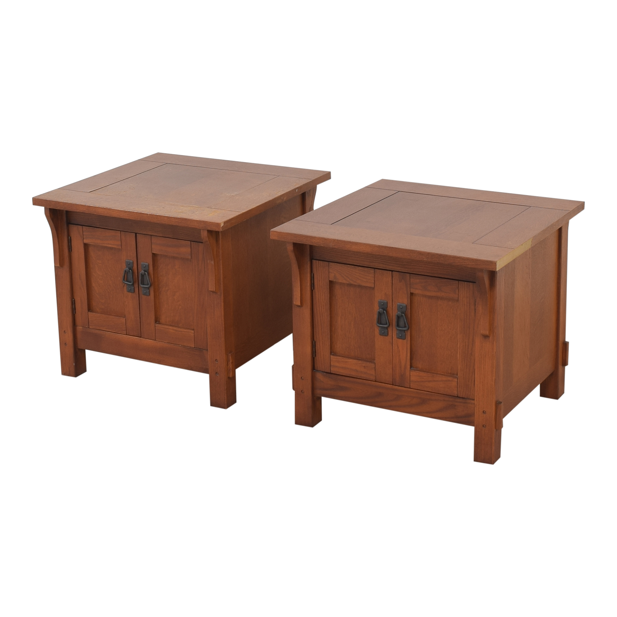 Bassett Furniture Bassett Furniture Two Door End Tables coupon