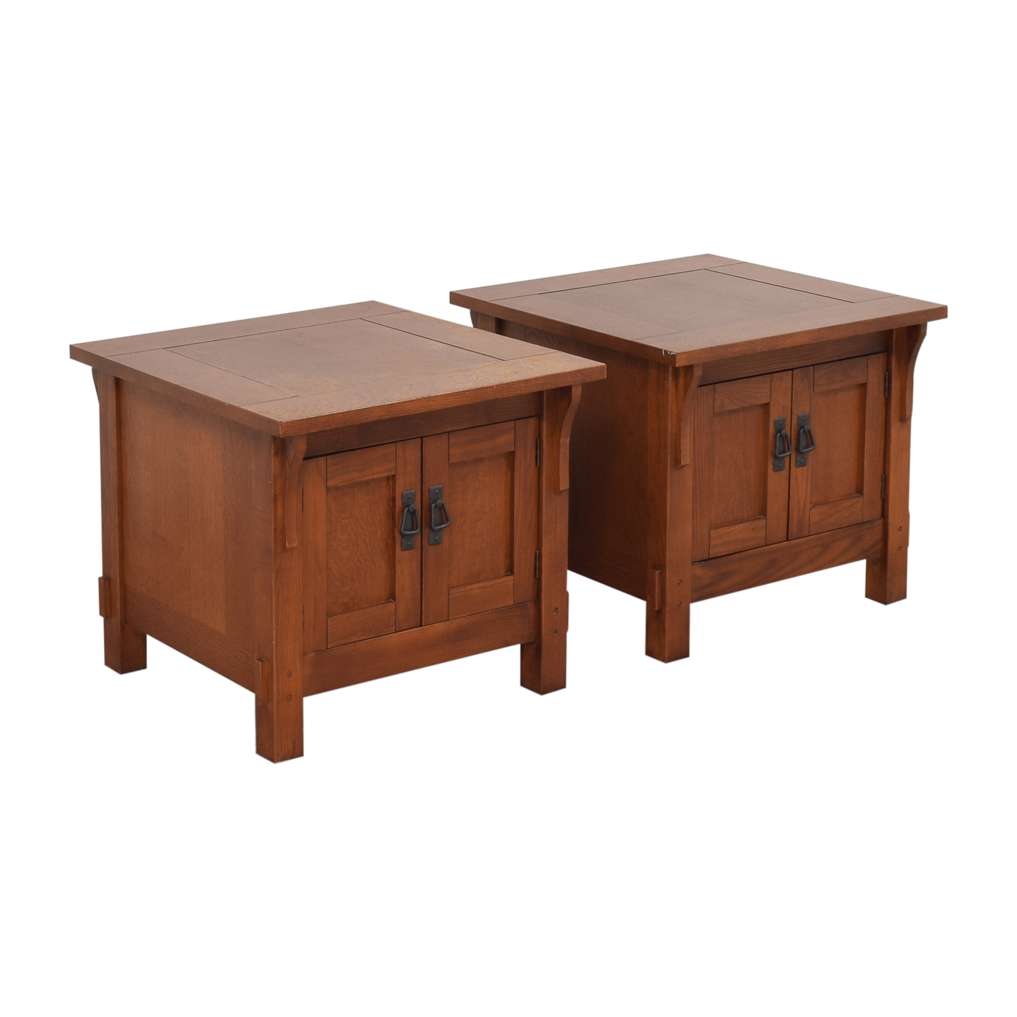 Bassett Furniture Bassett Furniture Two Door End Tables for sale