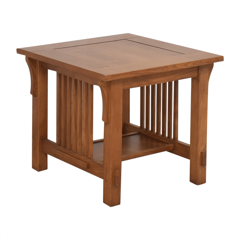 Scott Jordan Furniture Mission-Style End Table Scott Jordan Furniture