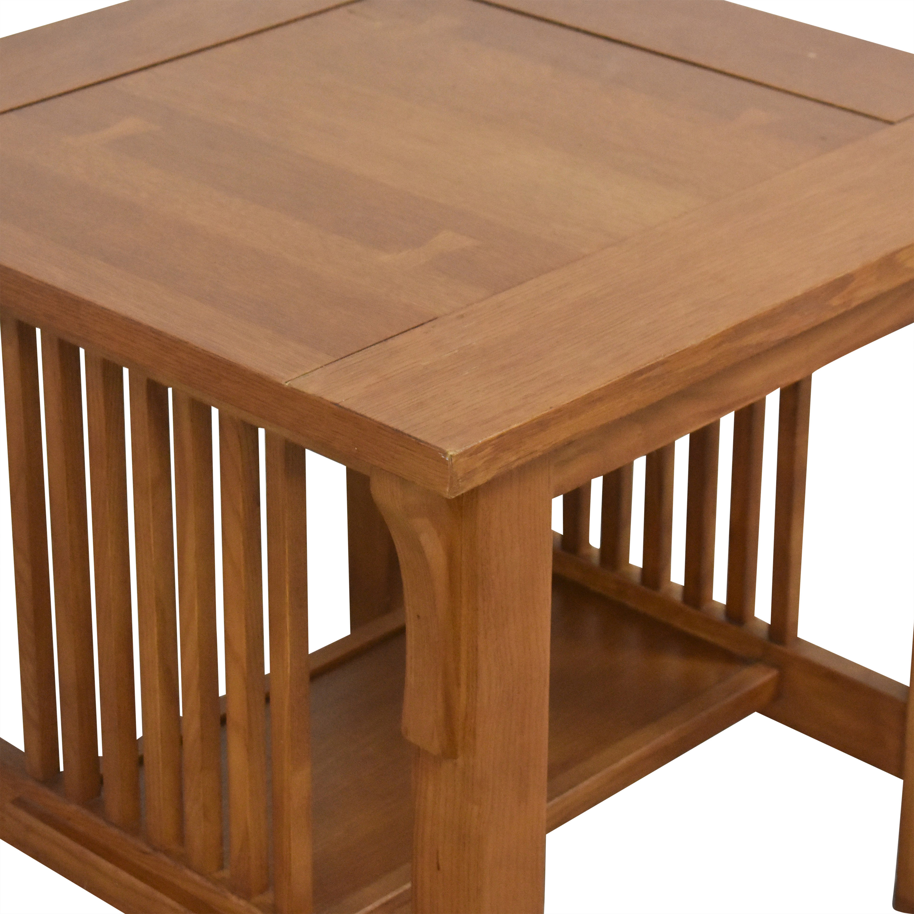 Scott Jordan Furniture Scott Jordan Furniture Mission-Style End Table Tables