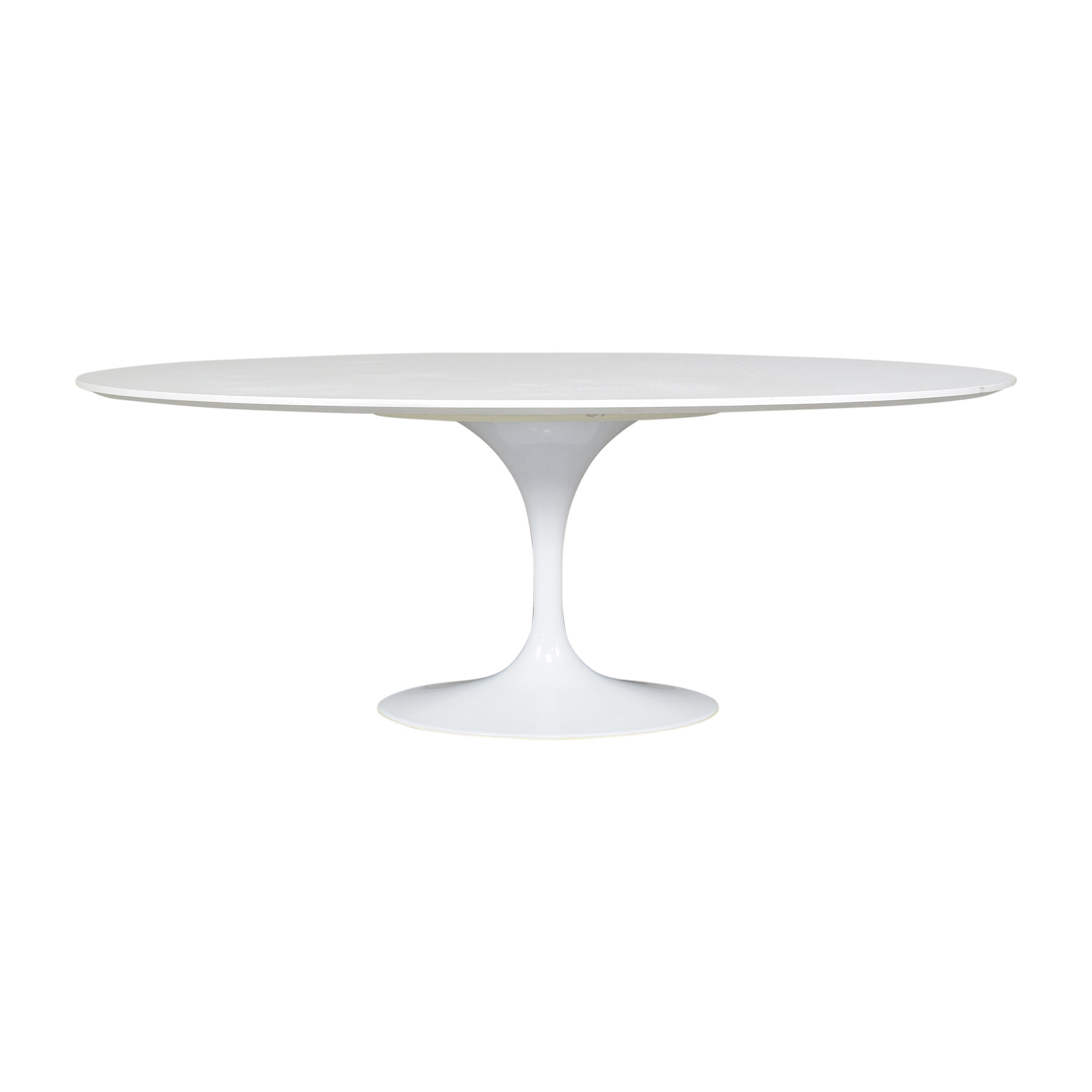 Wayfair Wayfair Wade Logan Bartsch Pedestal Dining Table white