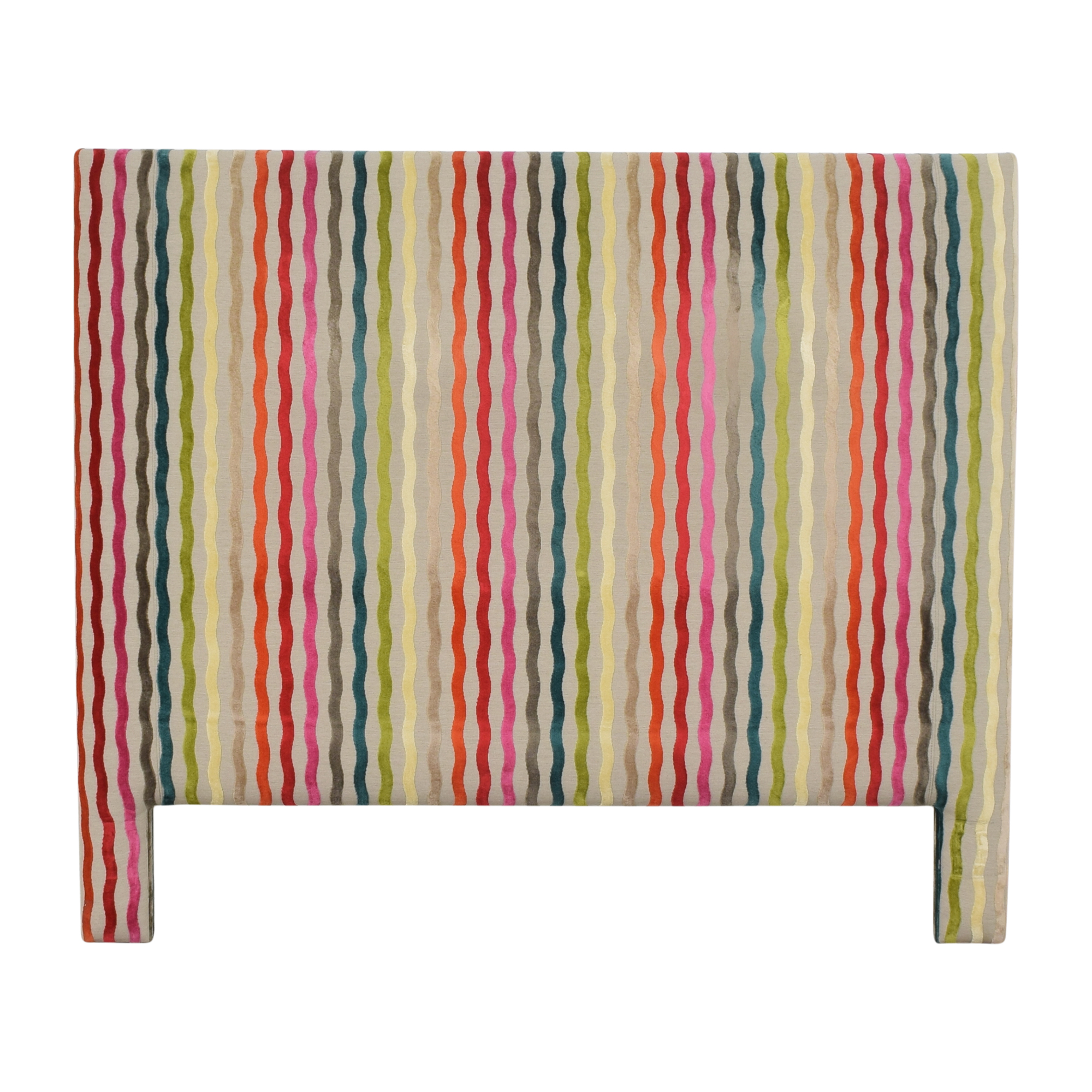 Kravet Kravet Striped Queen Headboard
