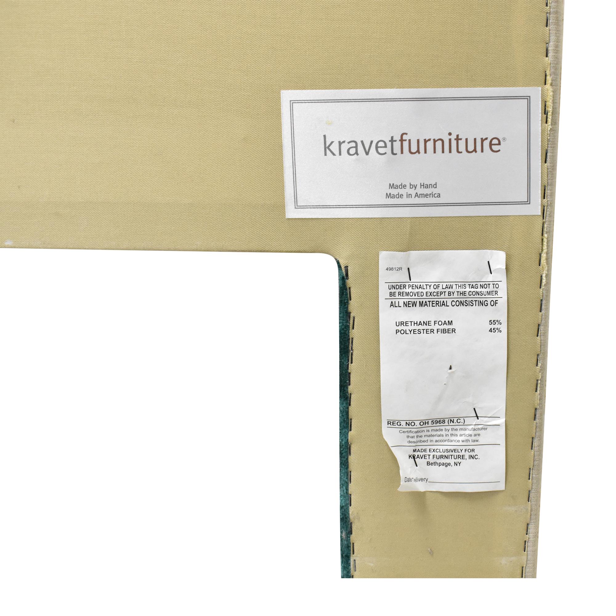 Kravet Kravet Striped Queen Headboard second hand