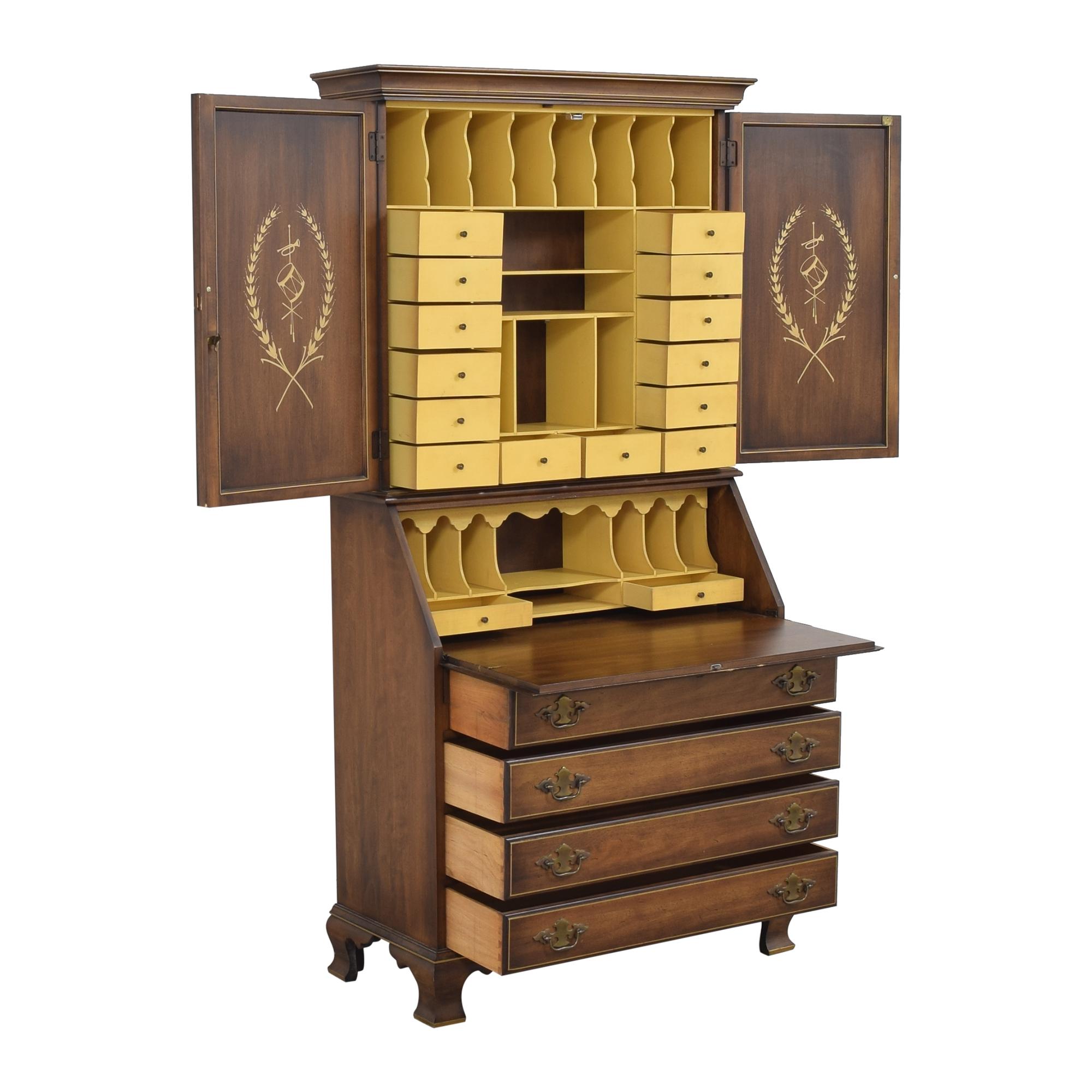 shop Huffman Koos Secretary Desk Huffman Koos