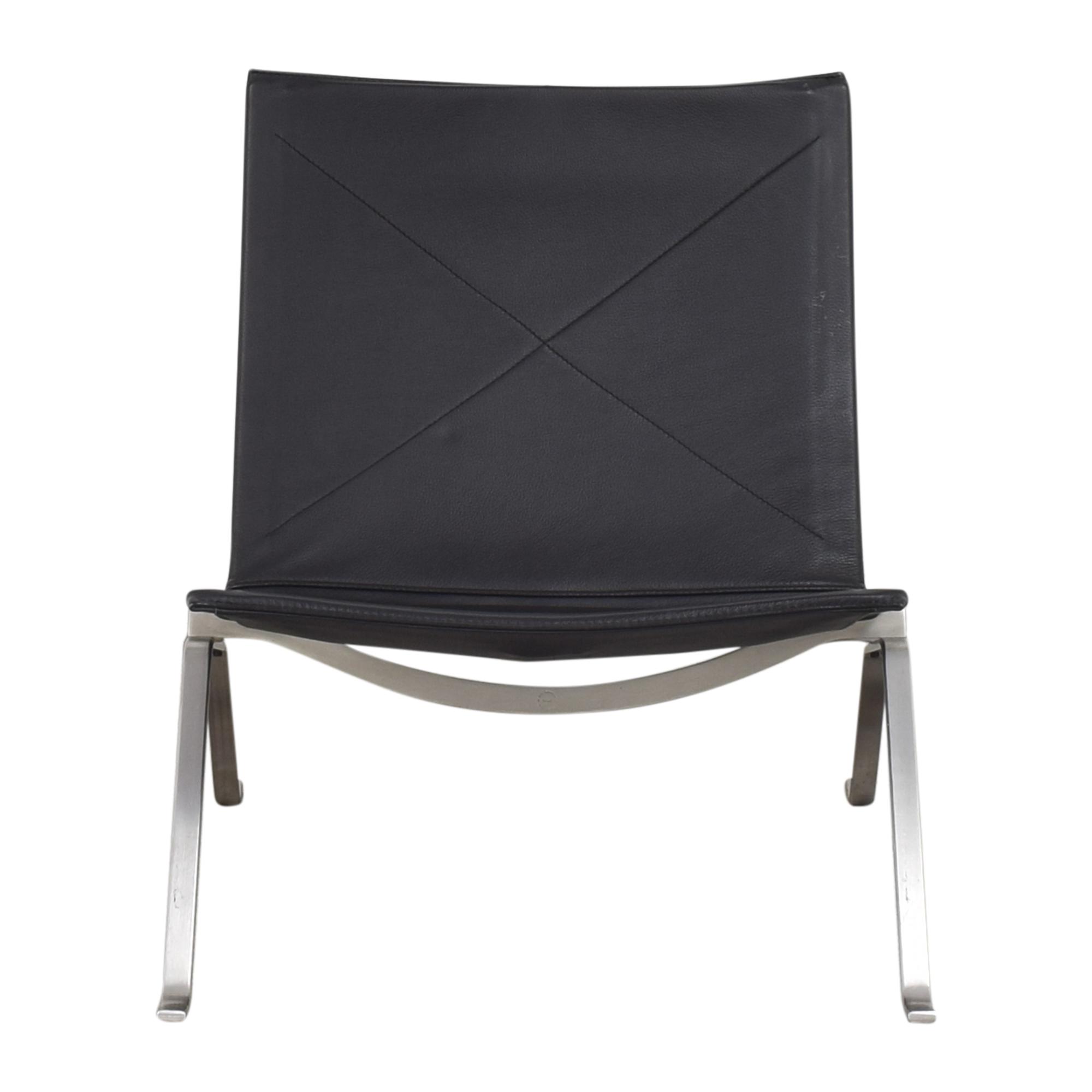 Fritz Hansen Fritz Hansen Poul Kjaerholm PK22 Modern Chair nj