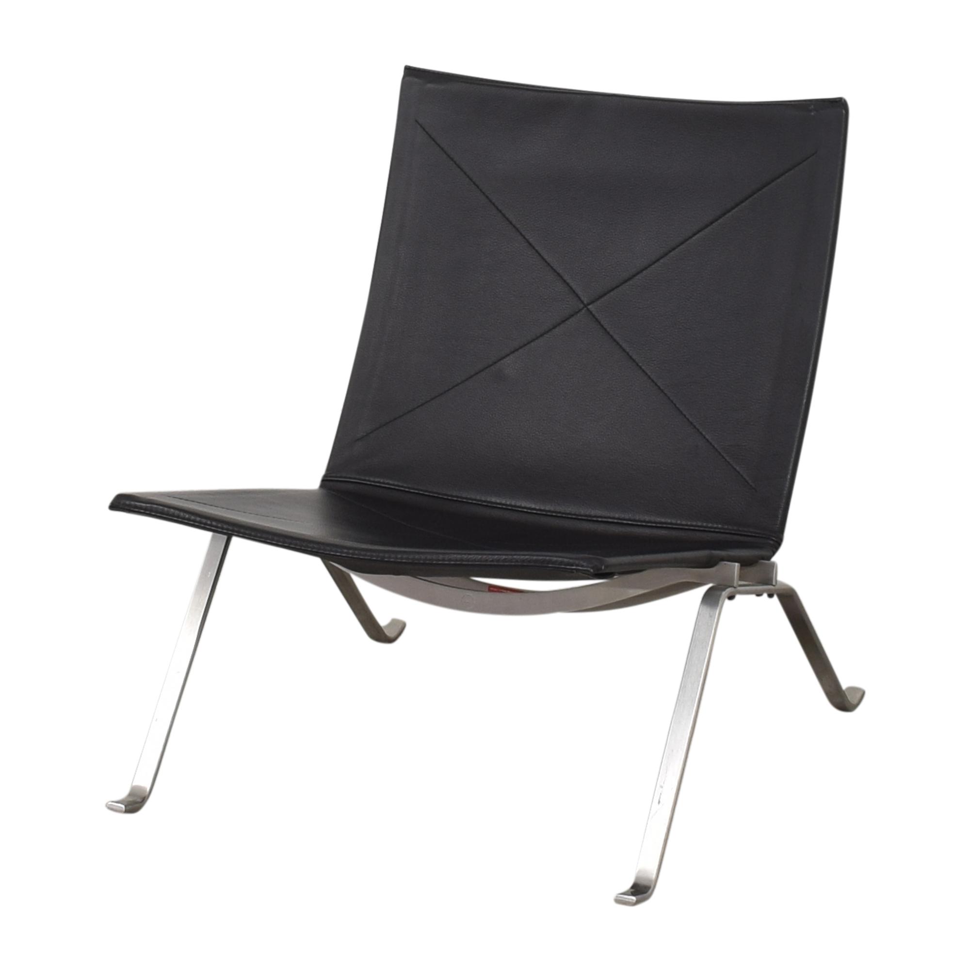 Fritz Hansen Poul Kjaerholm PK22 Modern Chair / Chairs