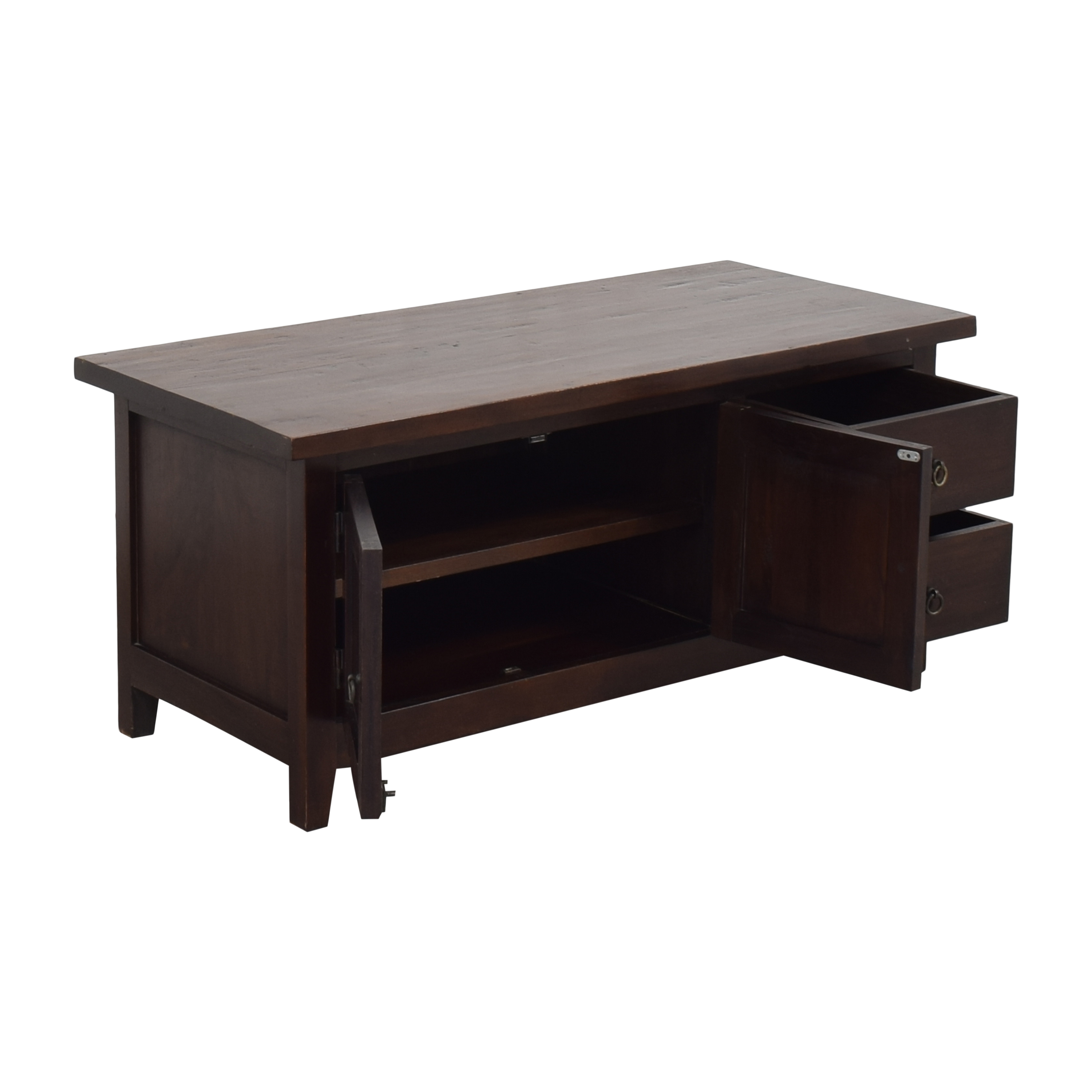Crate & Barrel Storage Coffee Table / Coffee Tables