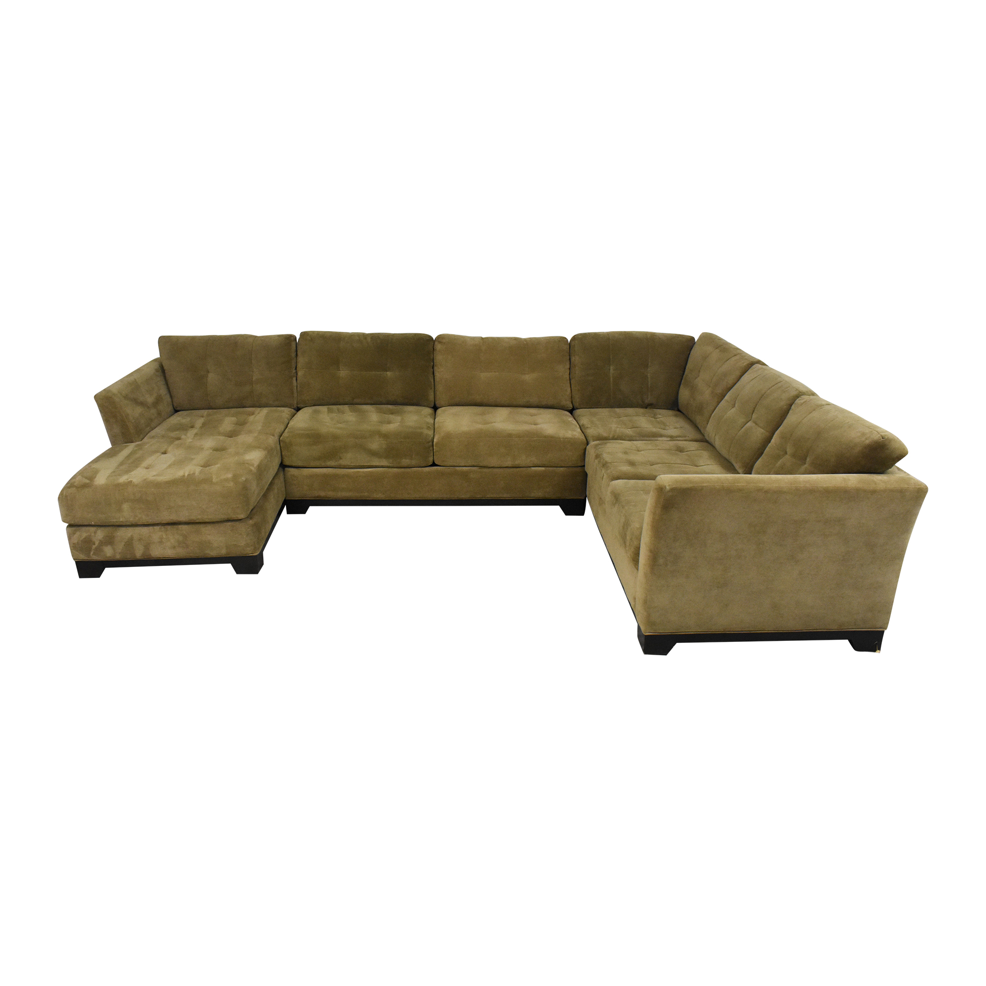 Macy's Elliot Three Piece Sectional Sofa / Sectionals