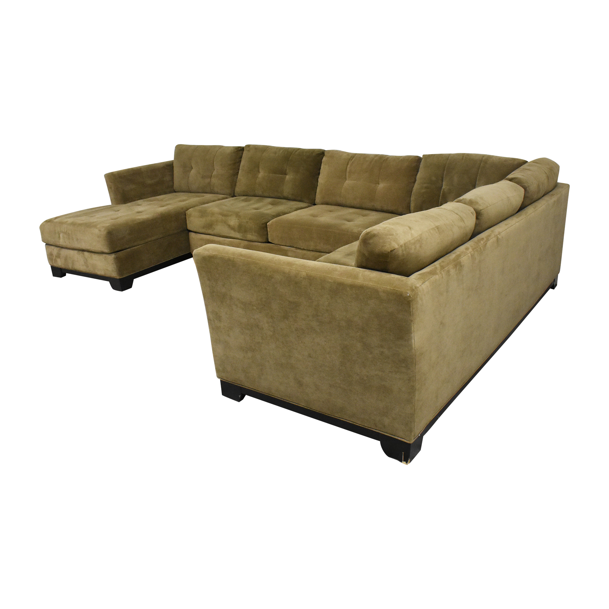 Macy's Macy's Elliot Three Piece Sectional Sofa Sectionals