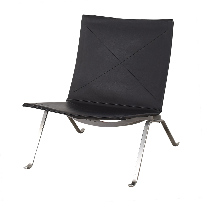 buy Fritz Hansen Poul Kjaerholm PK22 Modern Chair Fritz Hansen Accent Chairs