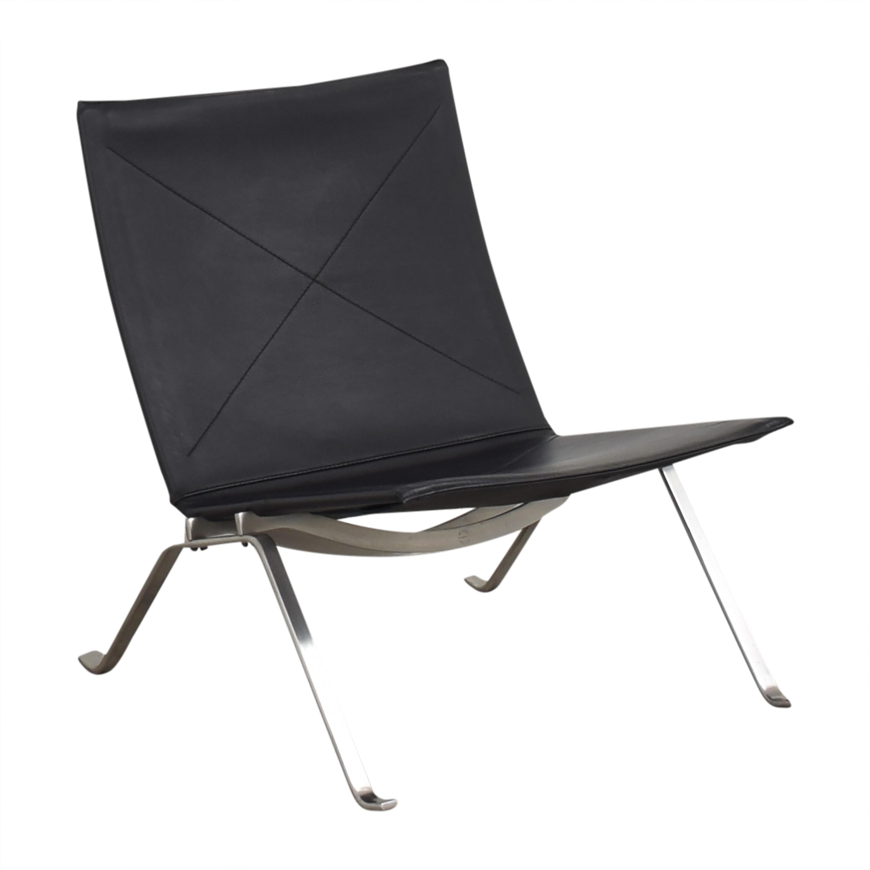 Fritz Hansen Fritz Hansen Poul Kjaerholm PK22 Modern Chair second hand