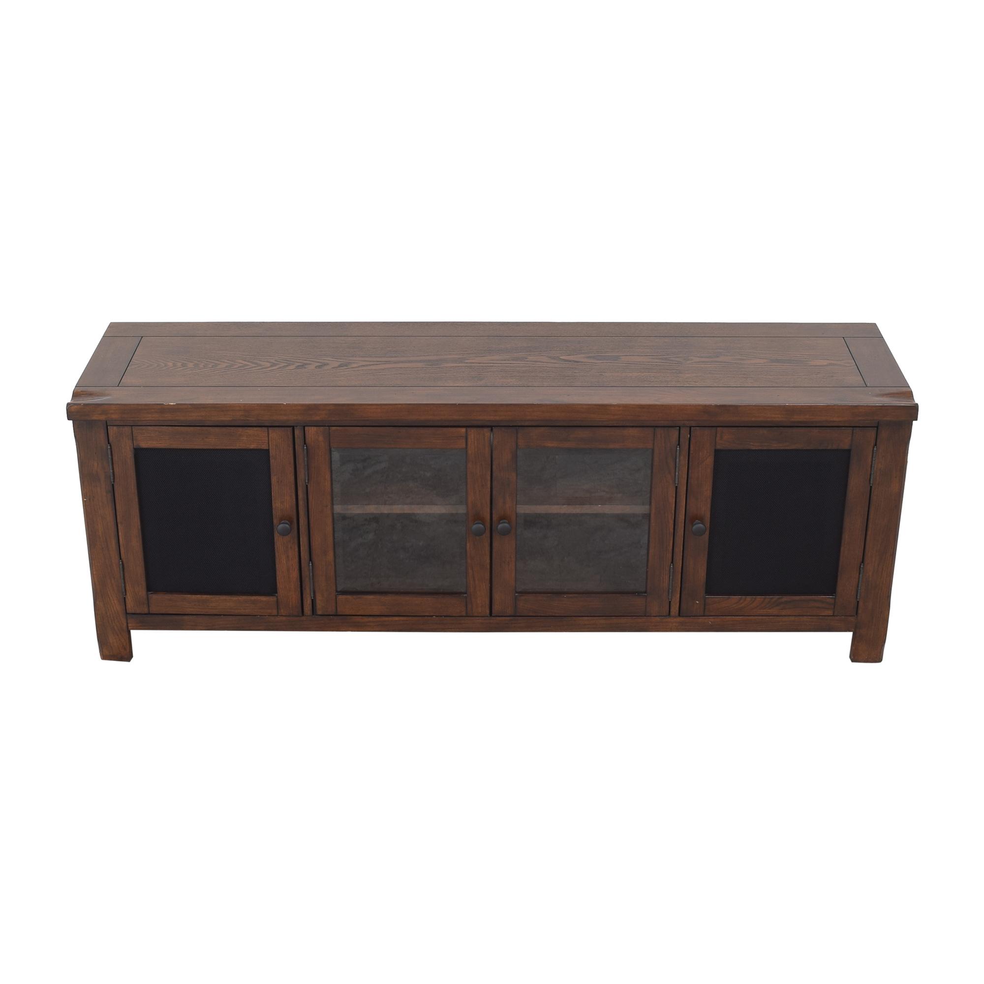 shop Pampa Furniture Media Center Emerald Home Furnishings