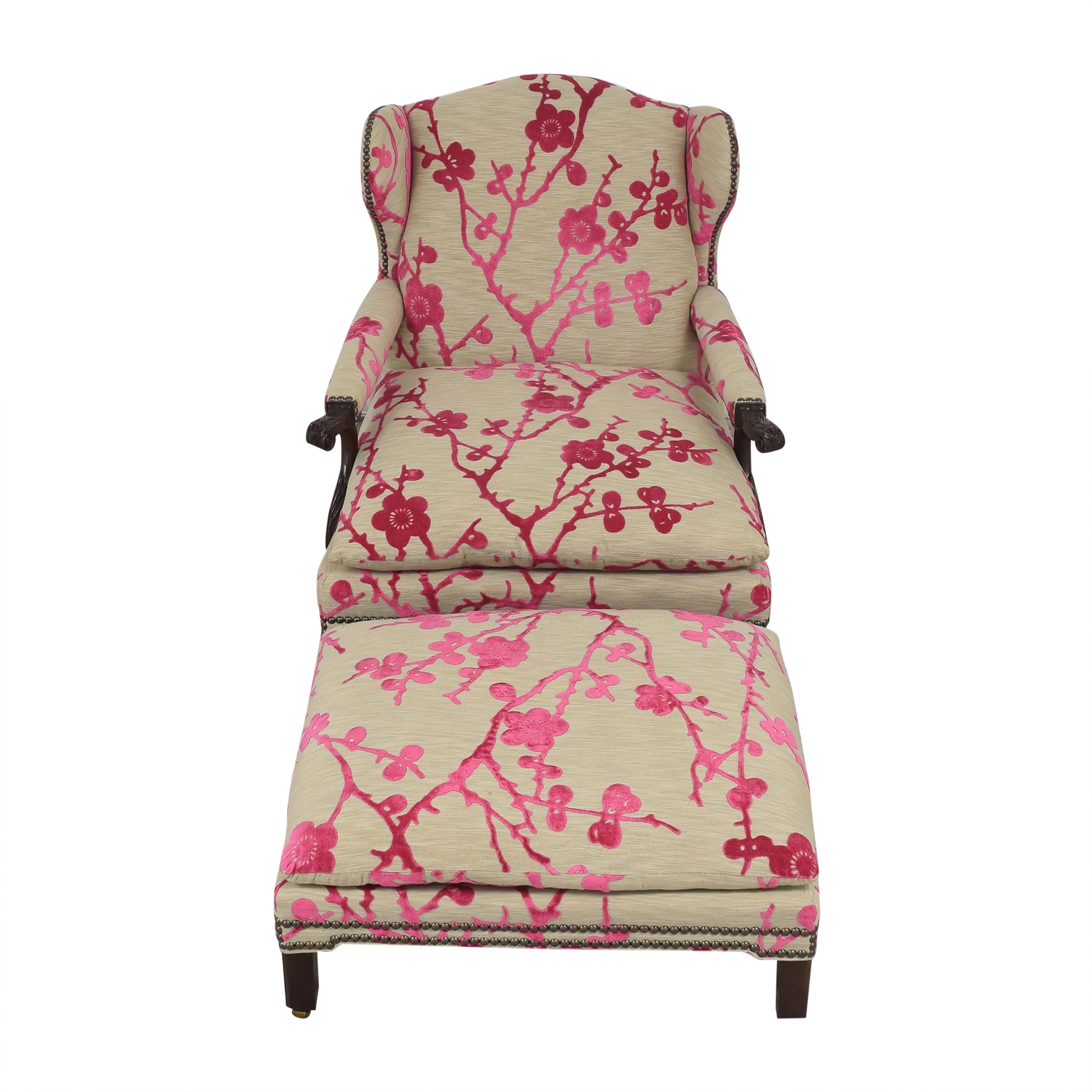 Hickory Chair Hickory Chair Custom Lounge Chair with Ottoman coupon