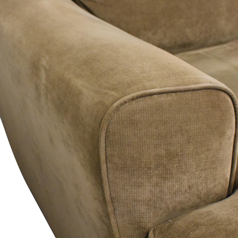 Raymour & Flanigan Raymour & Flanigan Chaise Sectional Sofa  on sale