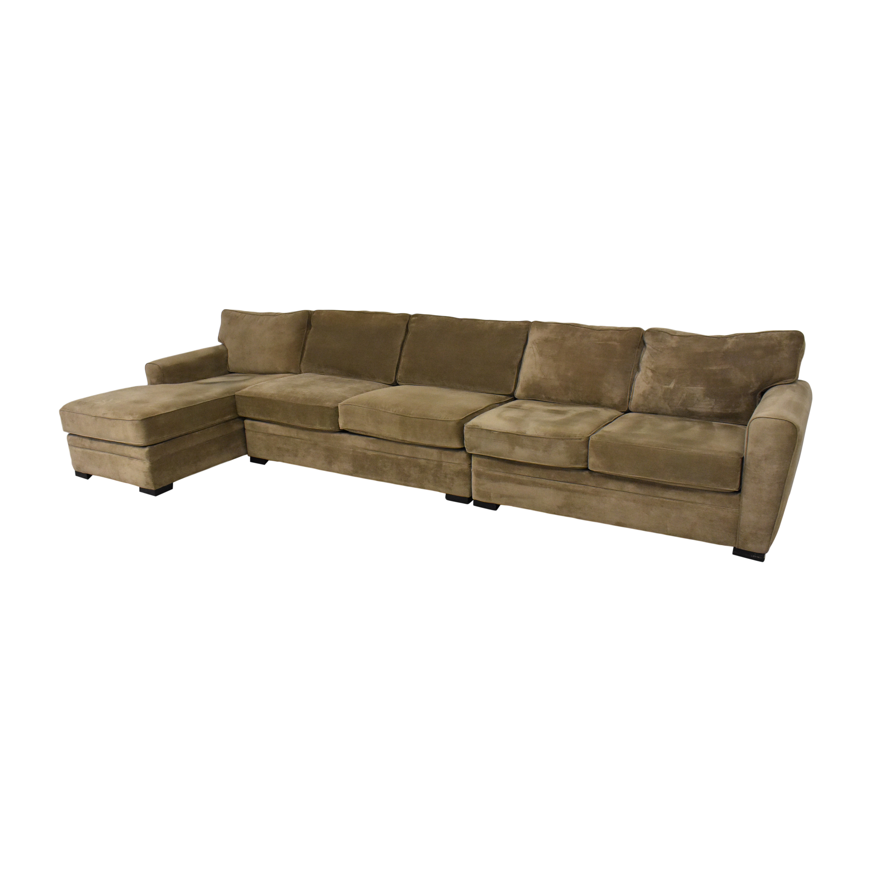 Raymour & Flanigan Chaise Sectional Sofa  / Sectionals