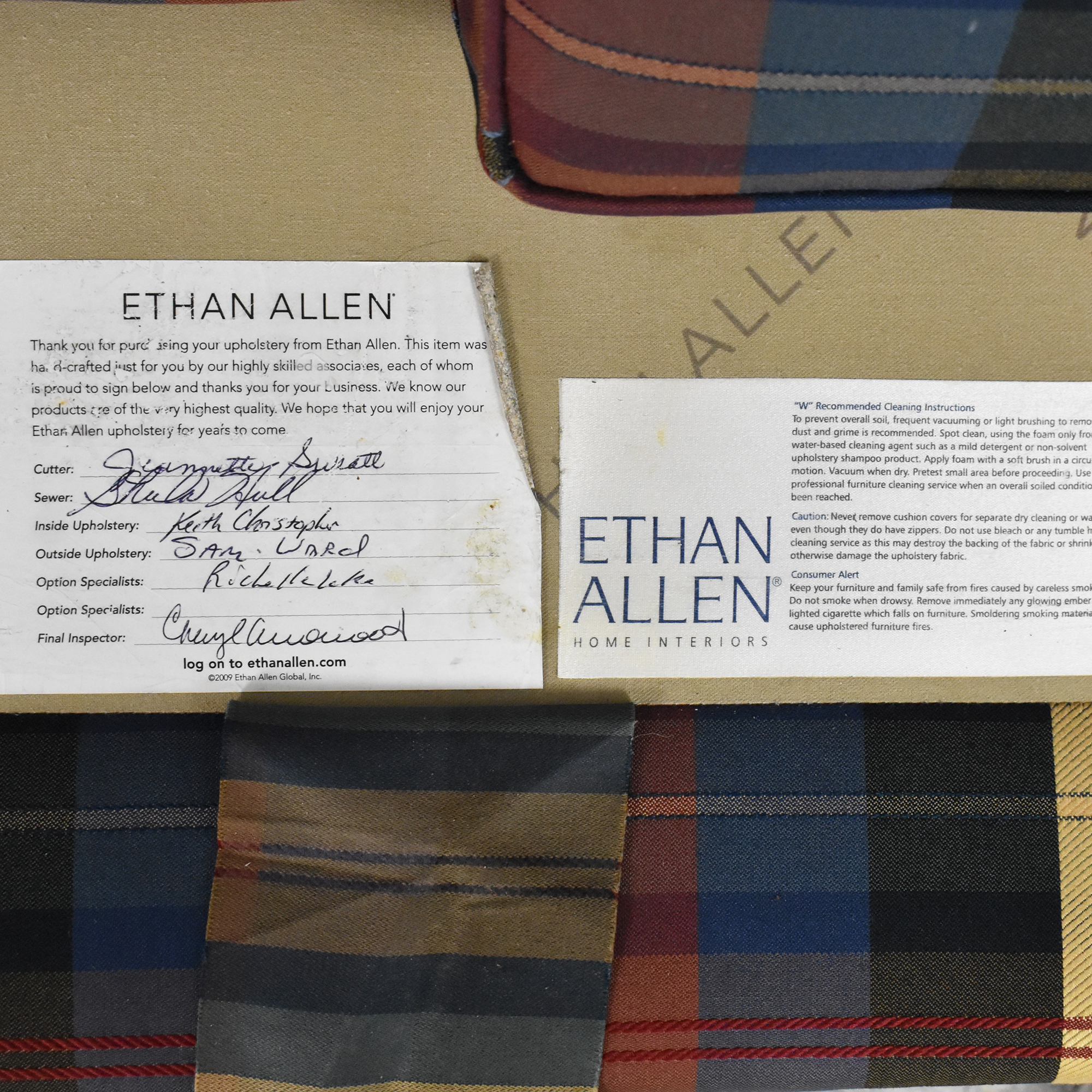 Ethan Allen Ethan Allen Custom Loveseat used