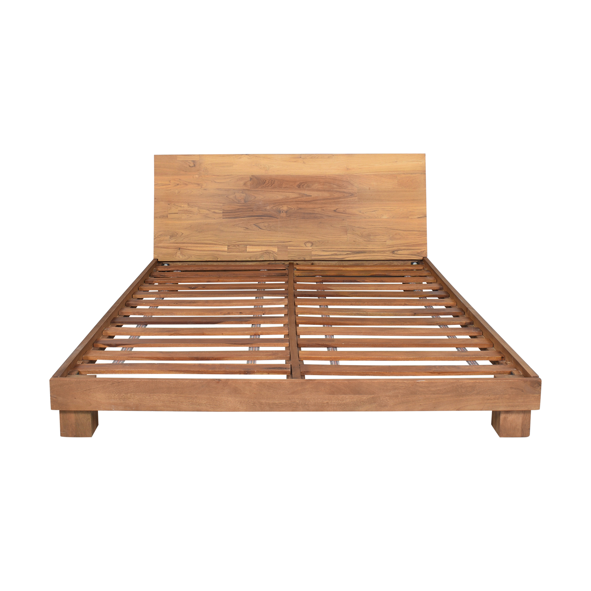 CB2 CB2 Dondra Queen Bed second hand