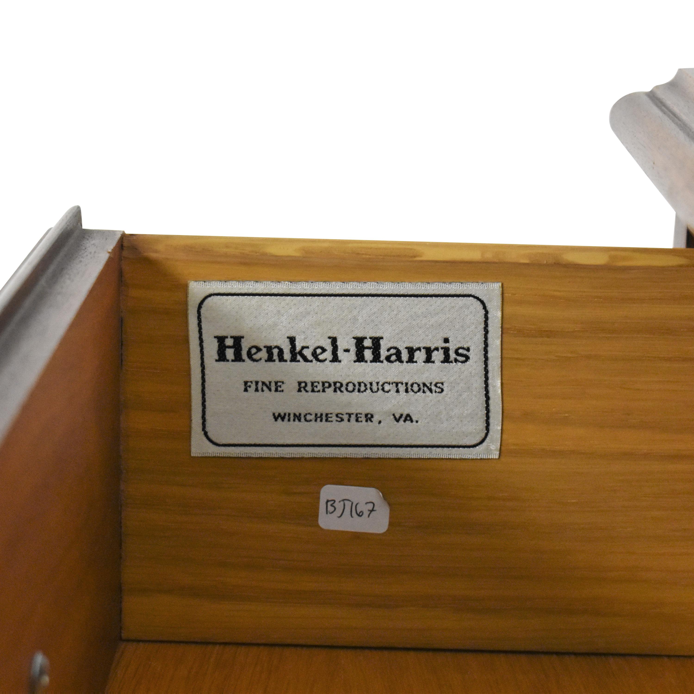 shop Henkel Harris Tall Six Drawer Chest Henkel Harris Storage