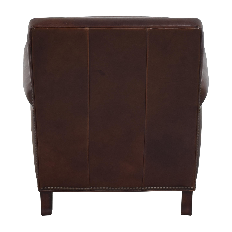 shop Bradington-Young Roll Arm Nailhead Accent Chair Bradington-Young