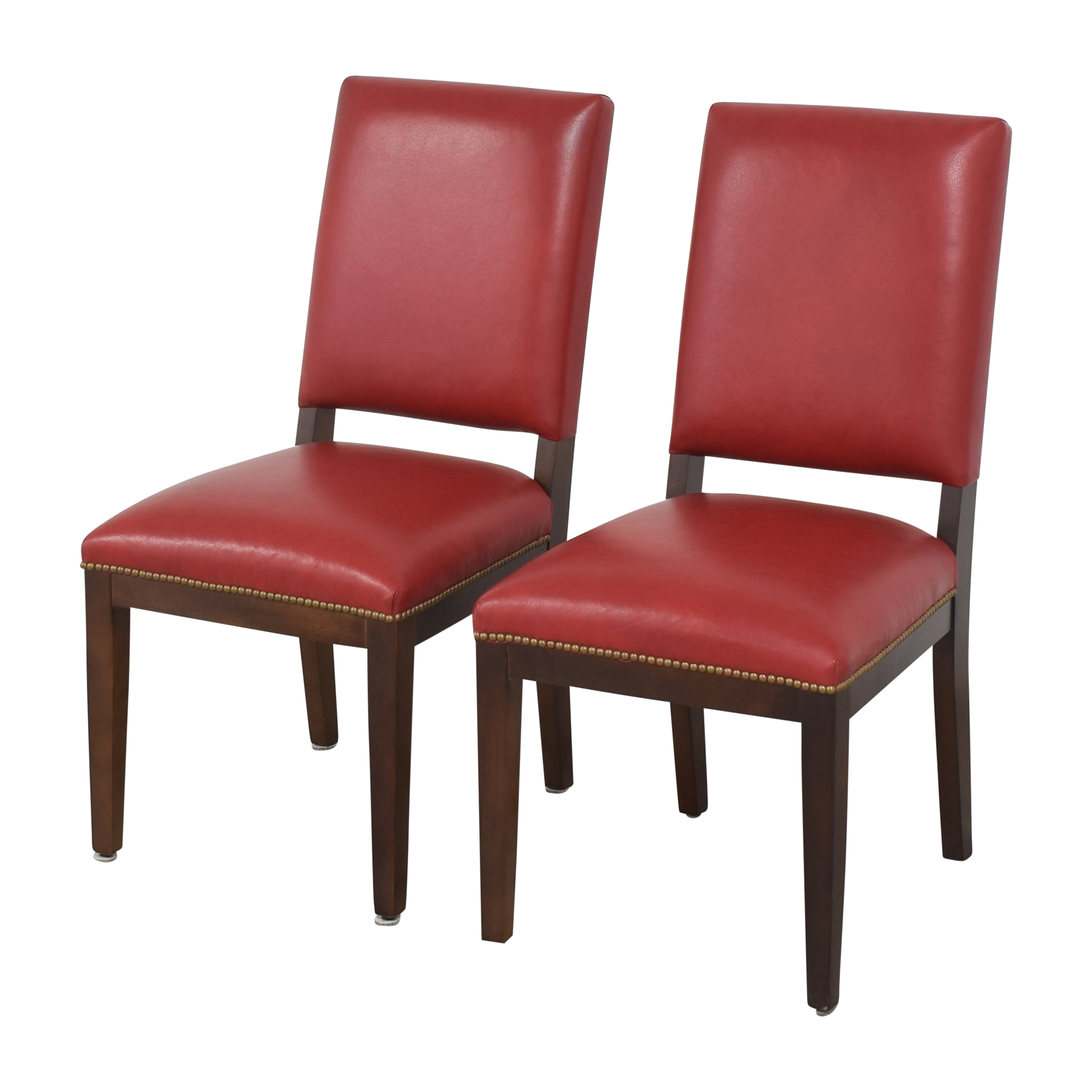 Nailhead Dining Chairs used