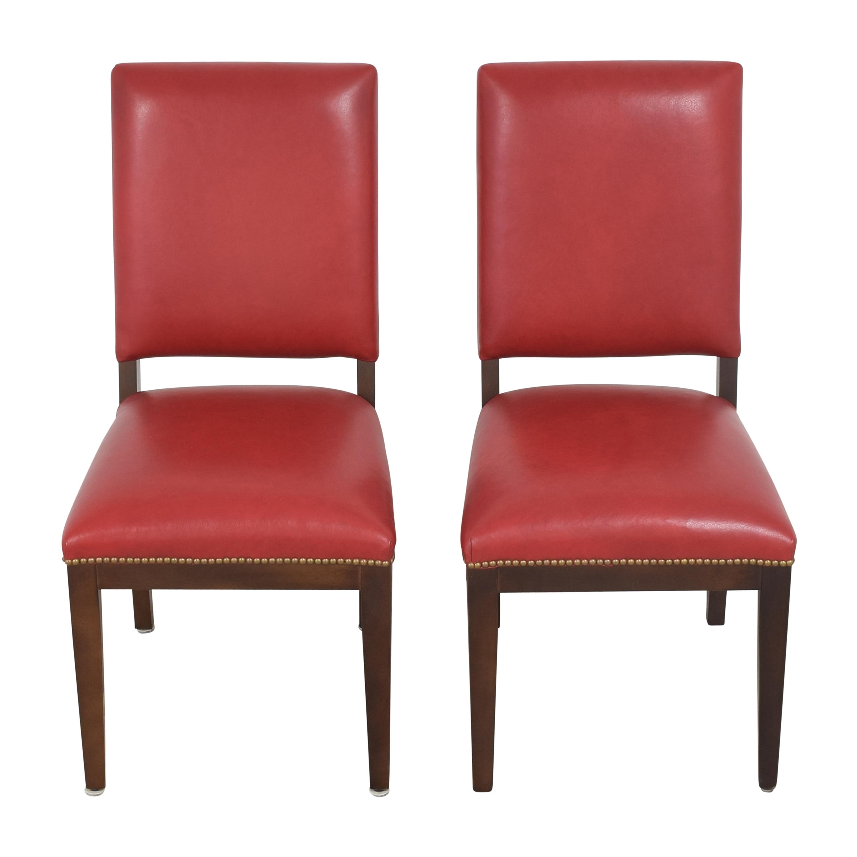 Nailhead Dining Chairs nyc