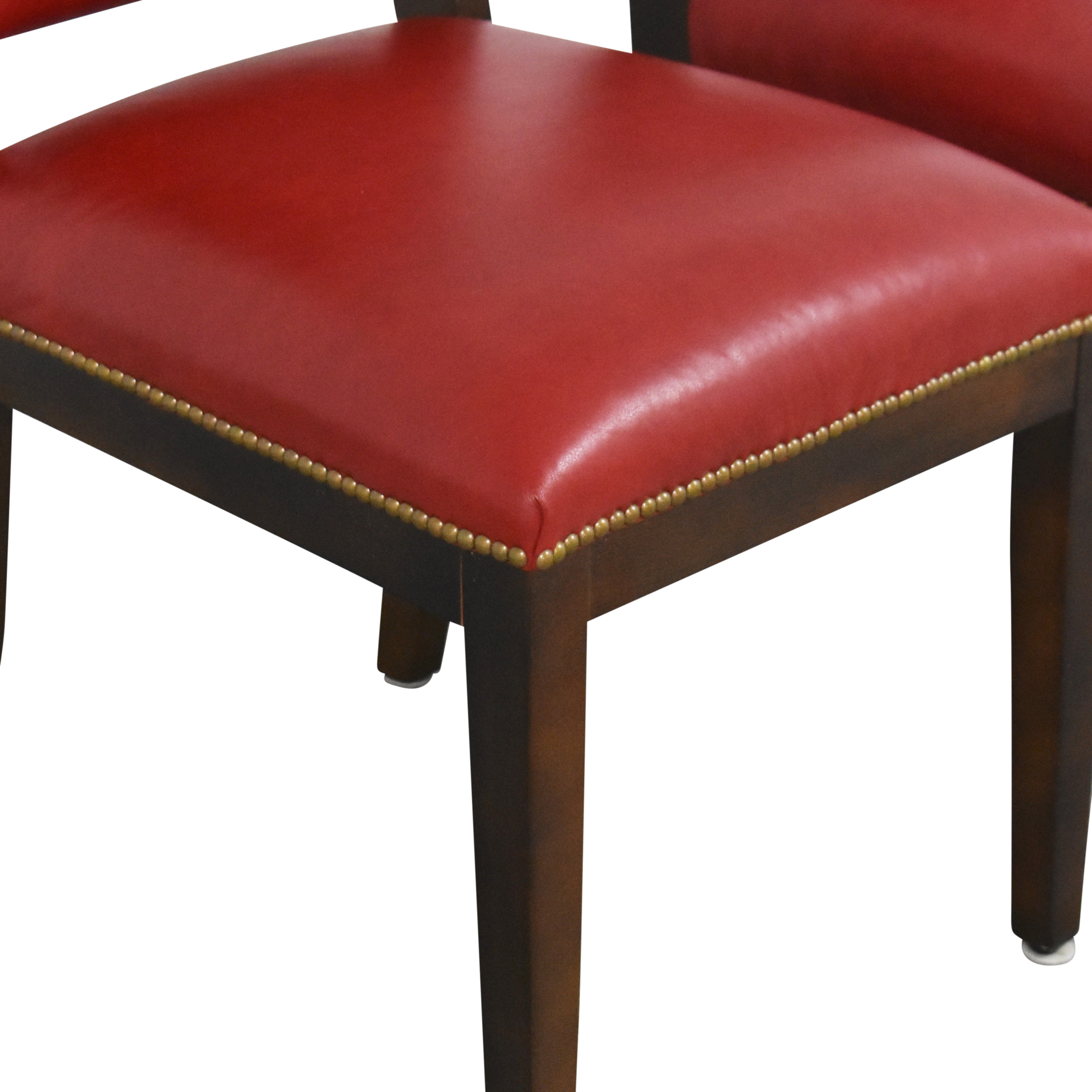 Nailhead Dining Chairs dimensions