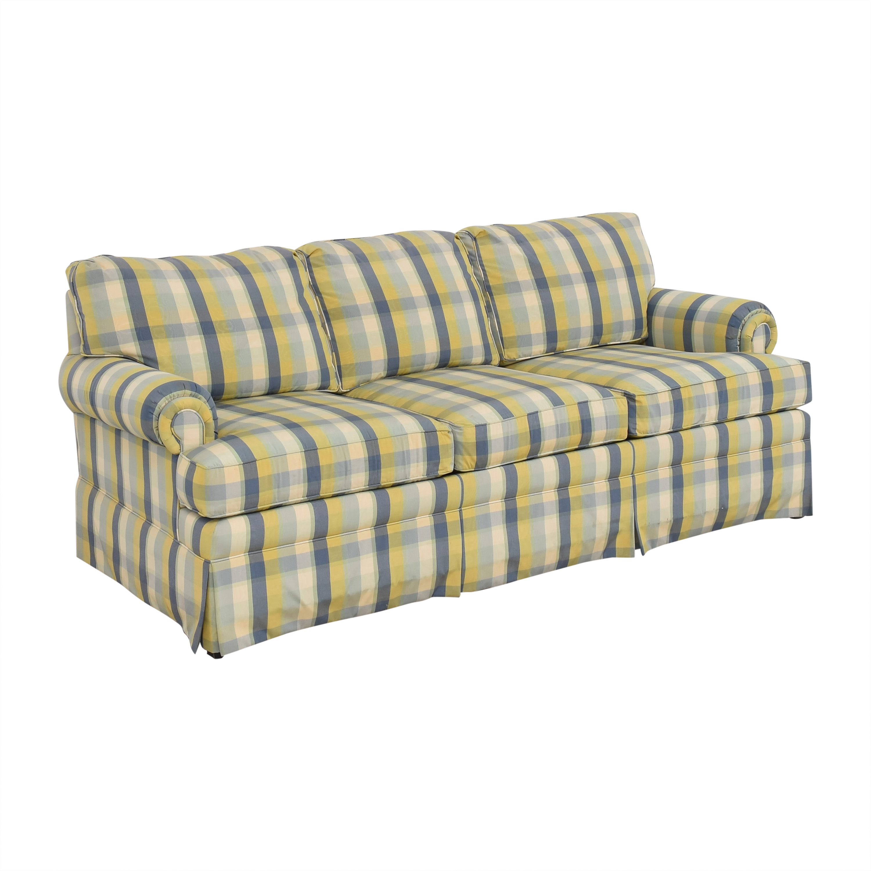 Ethan Allen Ethan Allen Plaid Sofa on sale
