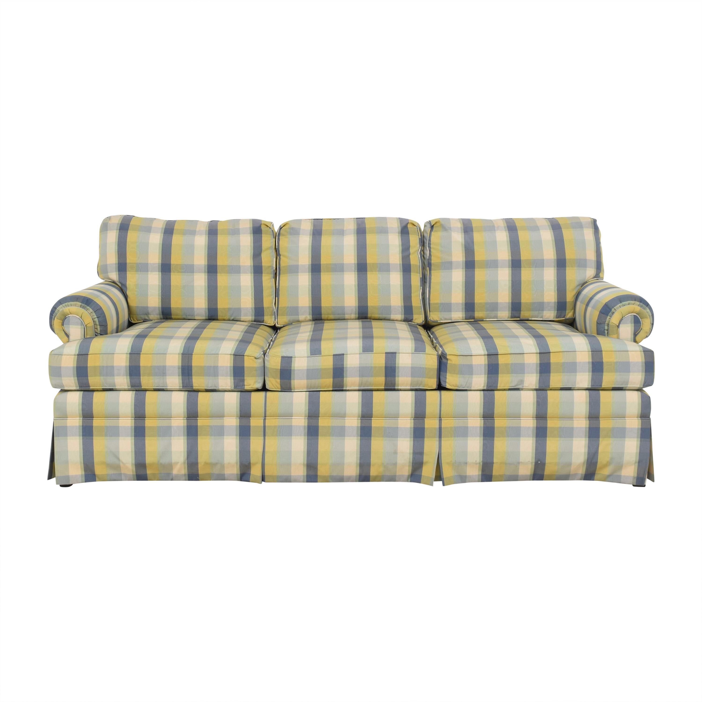 Ethan Allen Ethan Allen Plaid Sofa nj