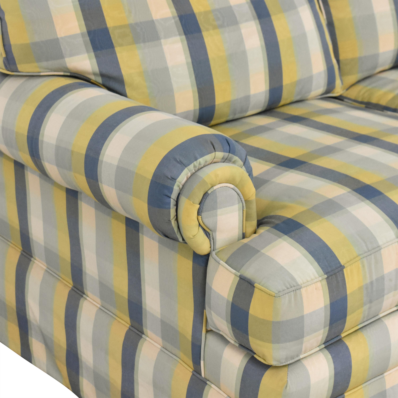 shop Ethan Allen Ethan Allen Plaid Sofa online