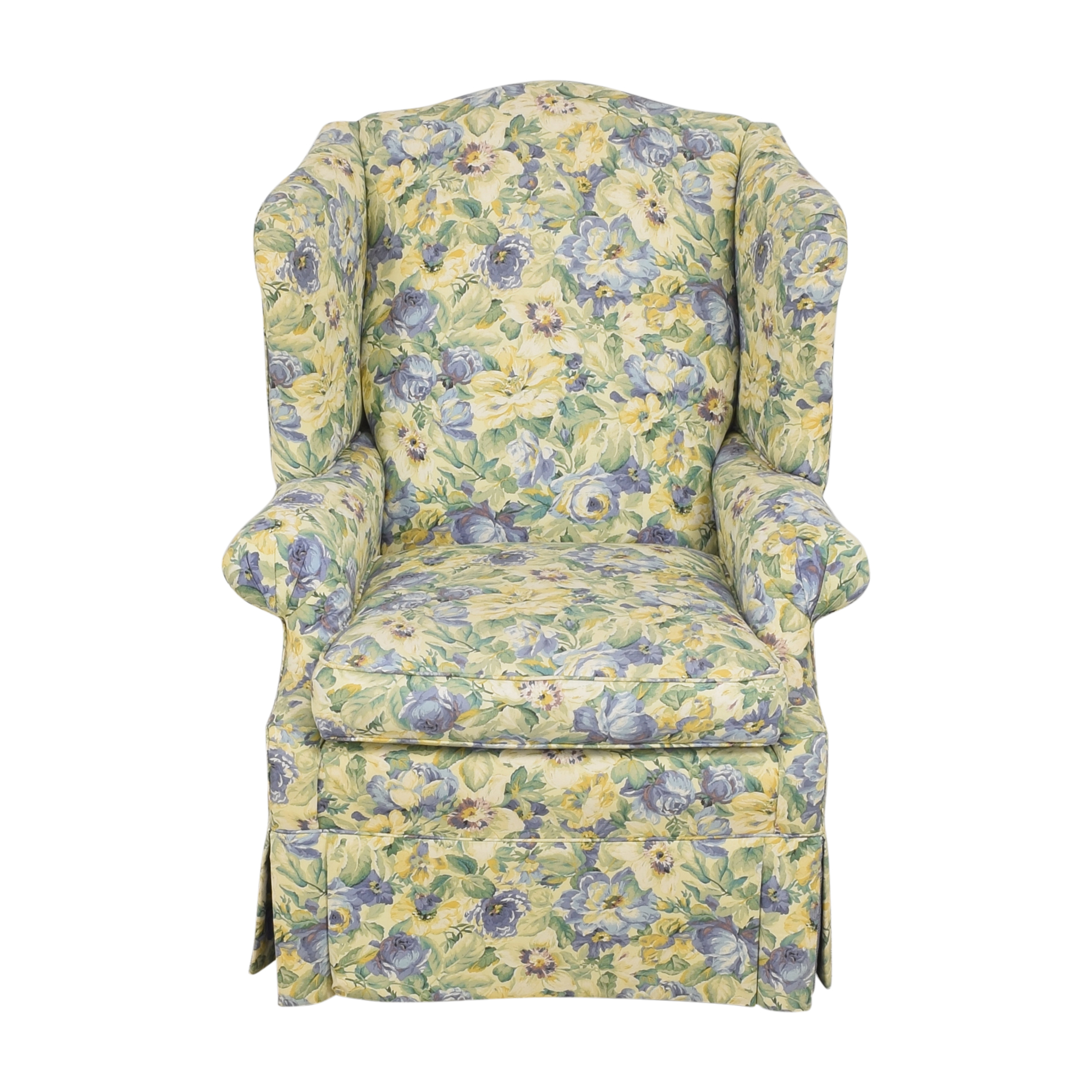 Ethan Allen Ethan Allen Skirted Wing Chair Chairs