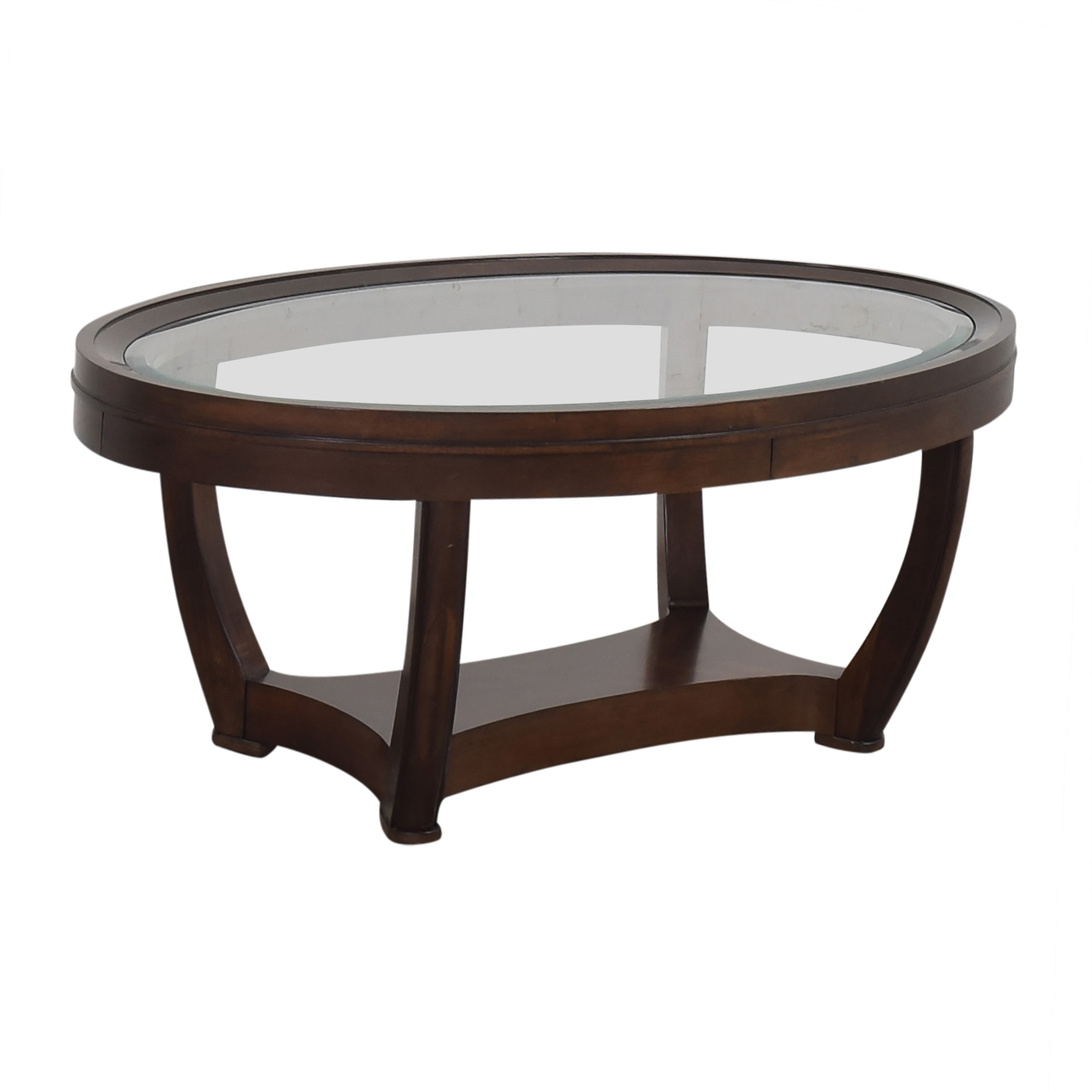 Oval Coffee Table used