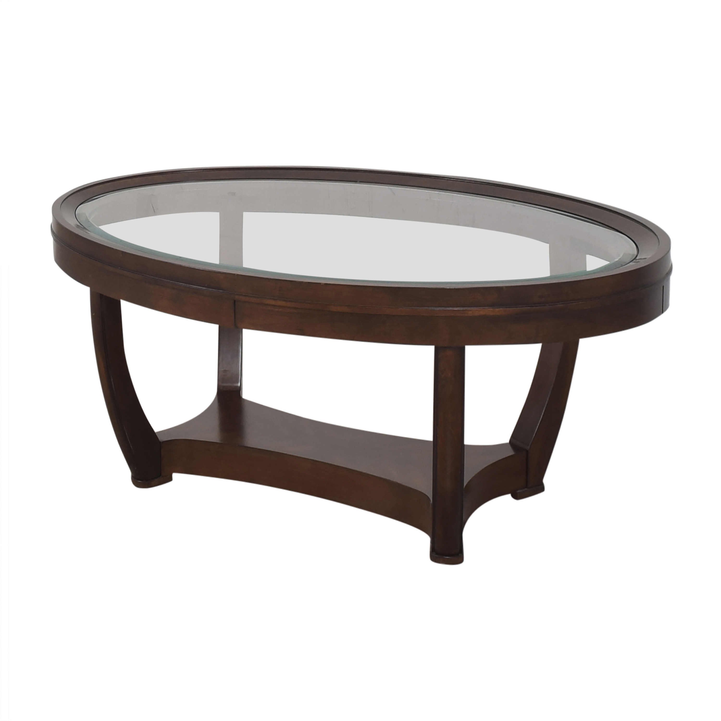 Oval Coffee Table second hand
