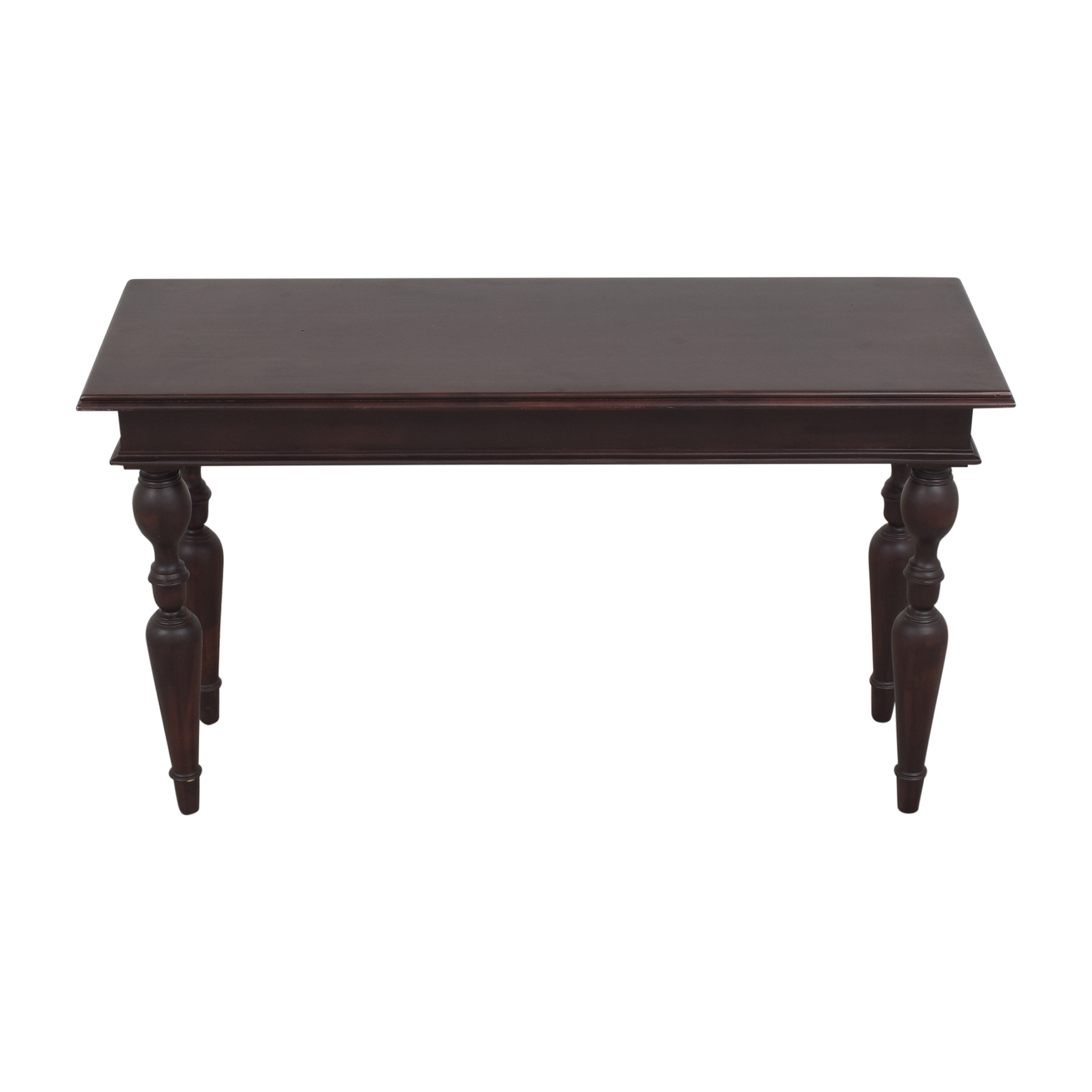 Lillian August Turned Leg Console Table Lillian August
