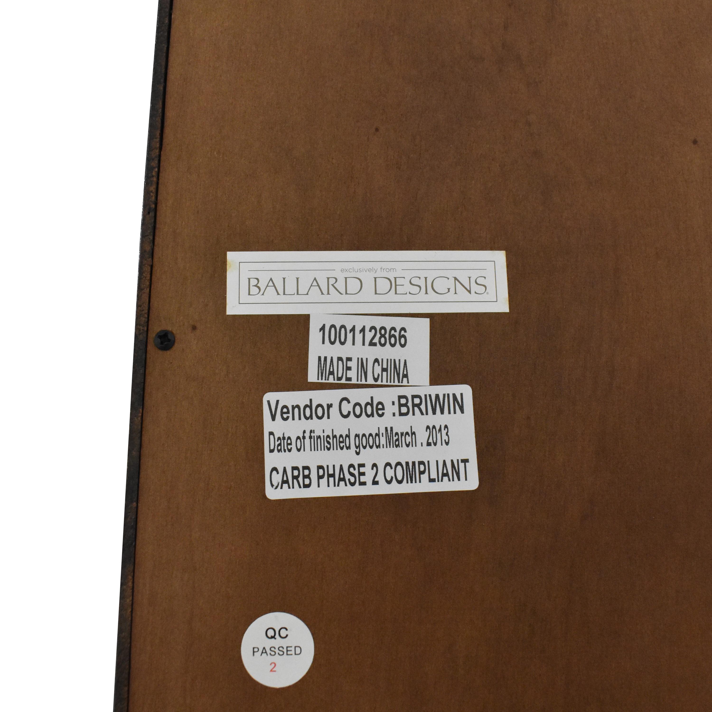 buy Ballard Designs Tuscan Left Bookcase Ballard Designs