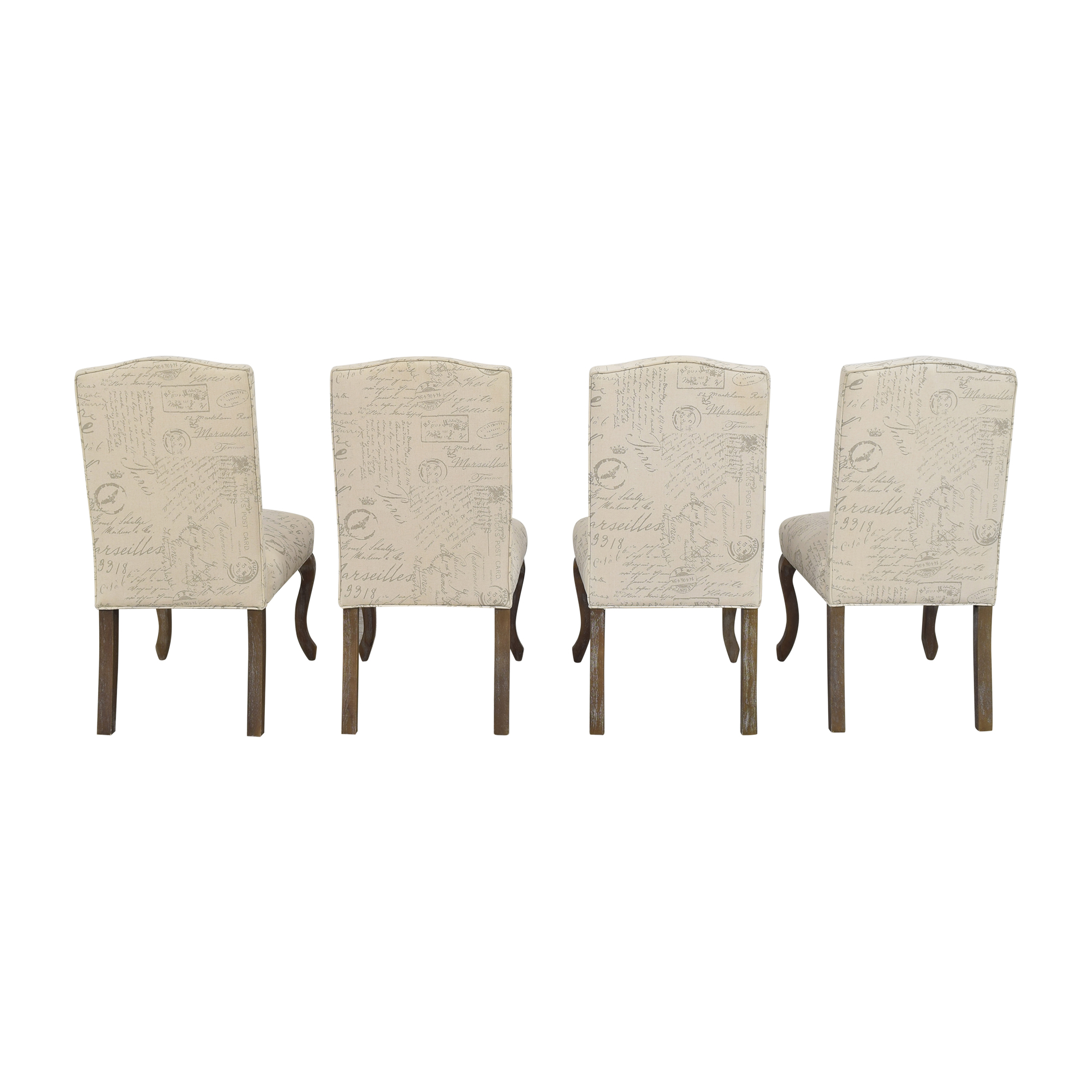 buy Noble House French Script Dining Chairs Noble House Dining Chairs