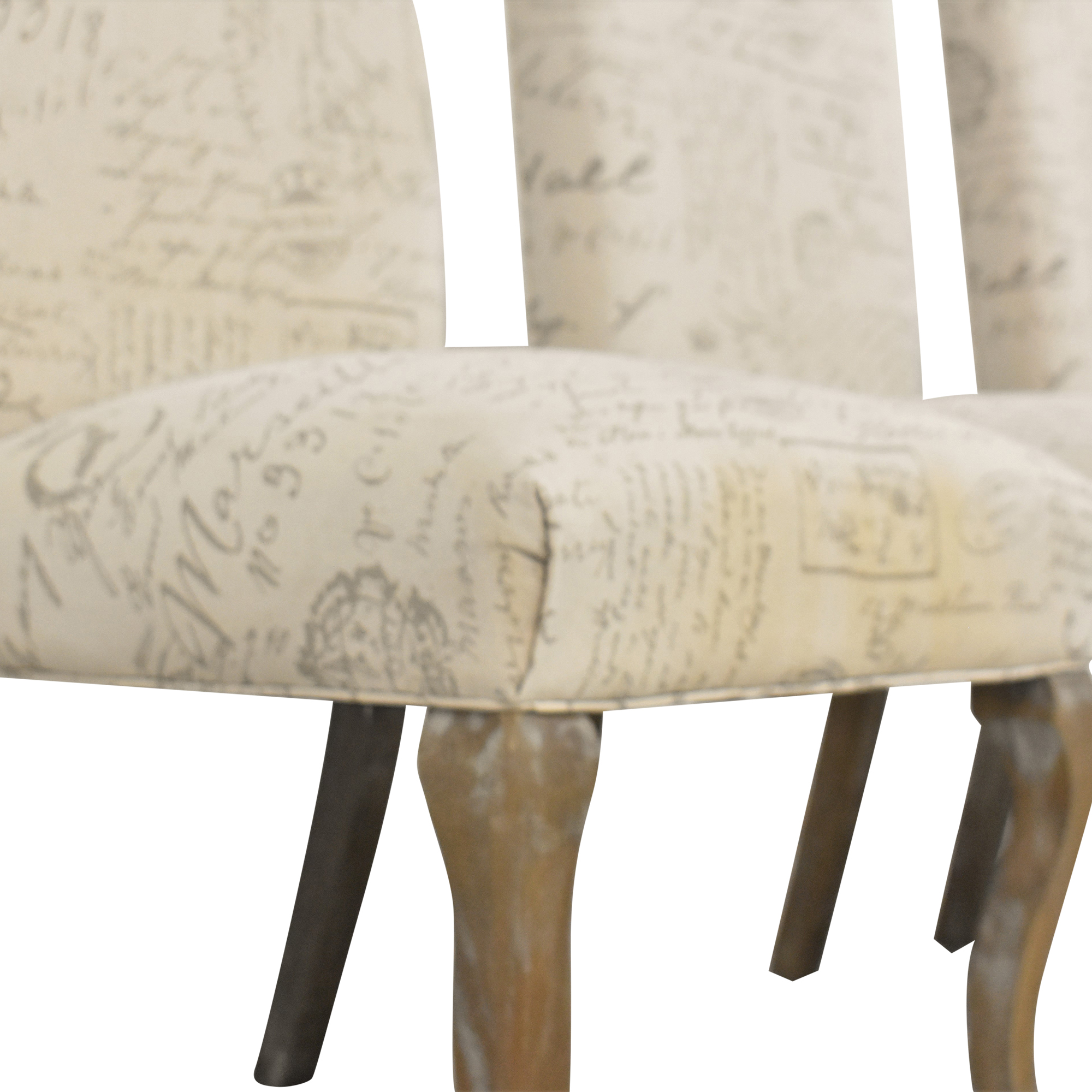 Noble House Noble House French Script Dining Chairs on sale