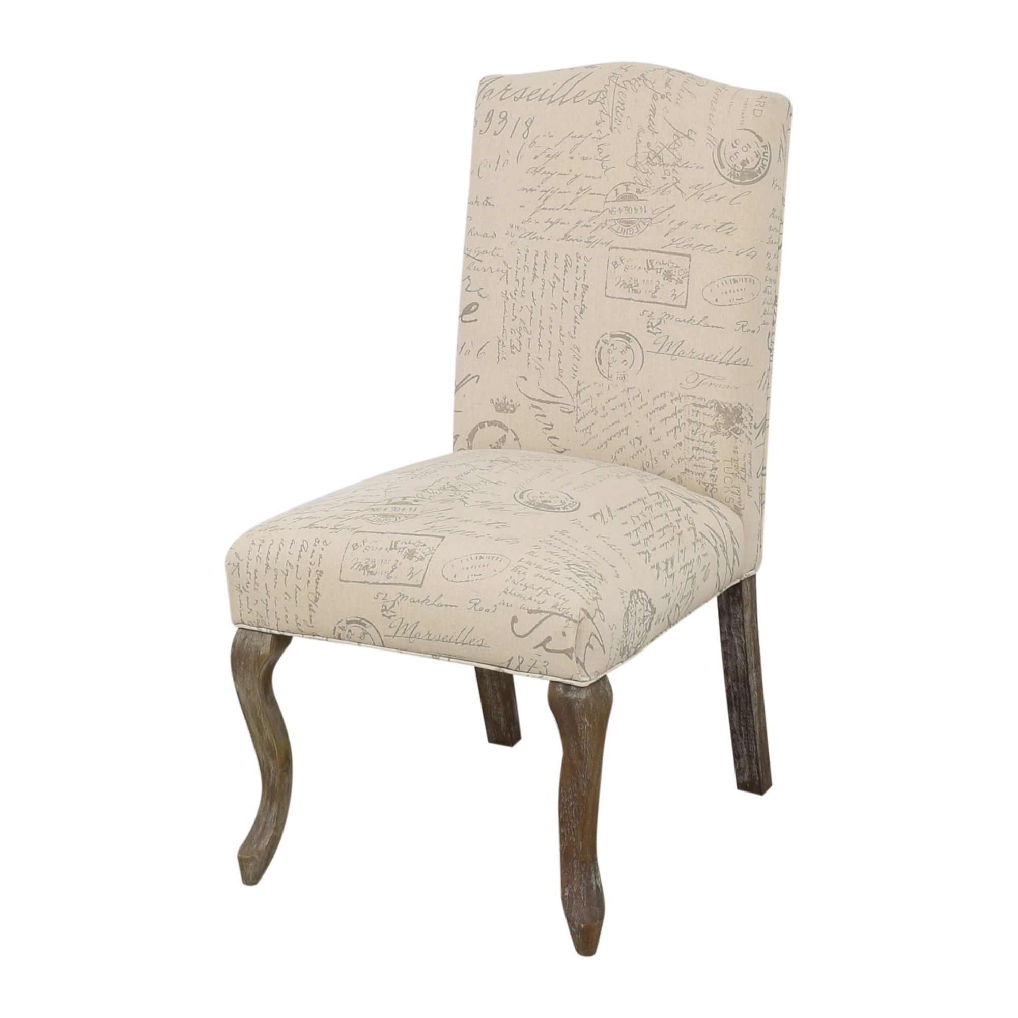 shop Noble House French Script Dining Chairs Noble House Dining Chairs