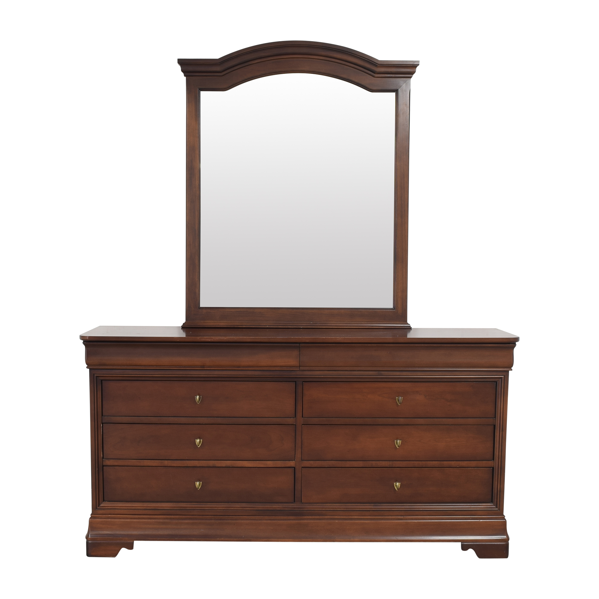 Kimball Kimball Double Dresser with Mirror second hand