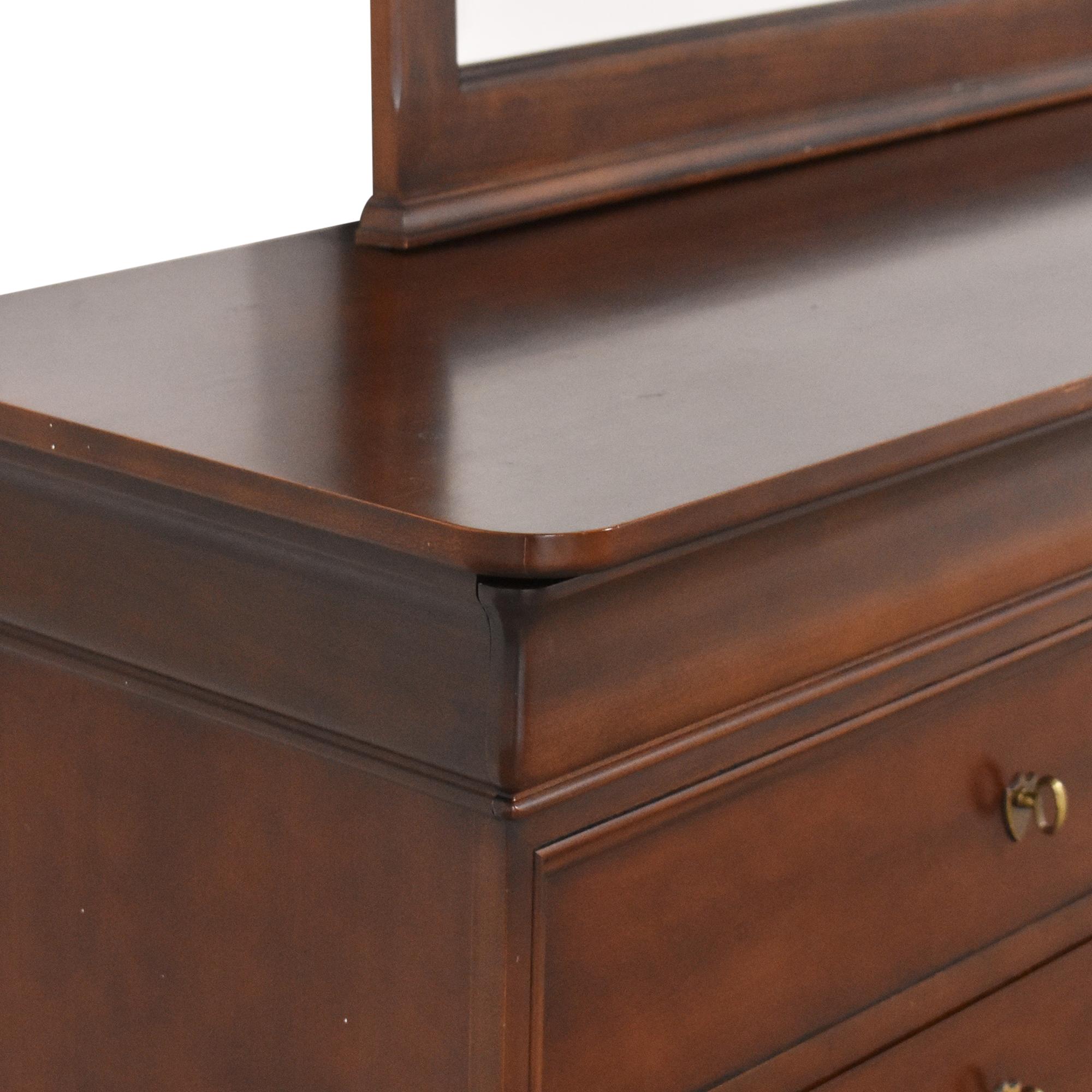 Kimball Kimball Double Dresser with Mirror used