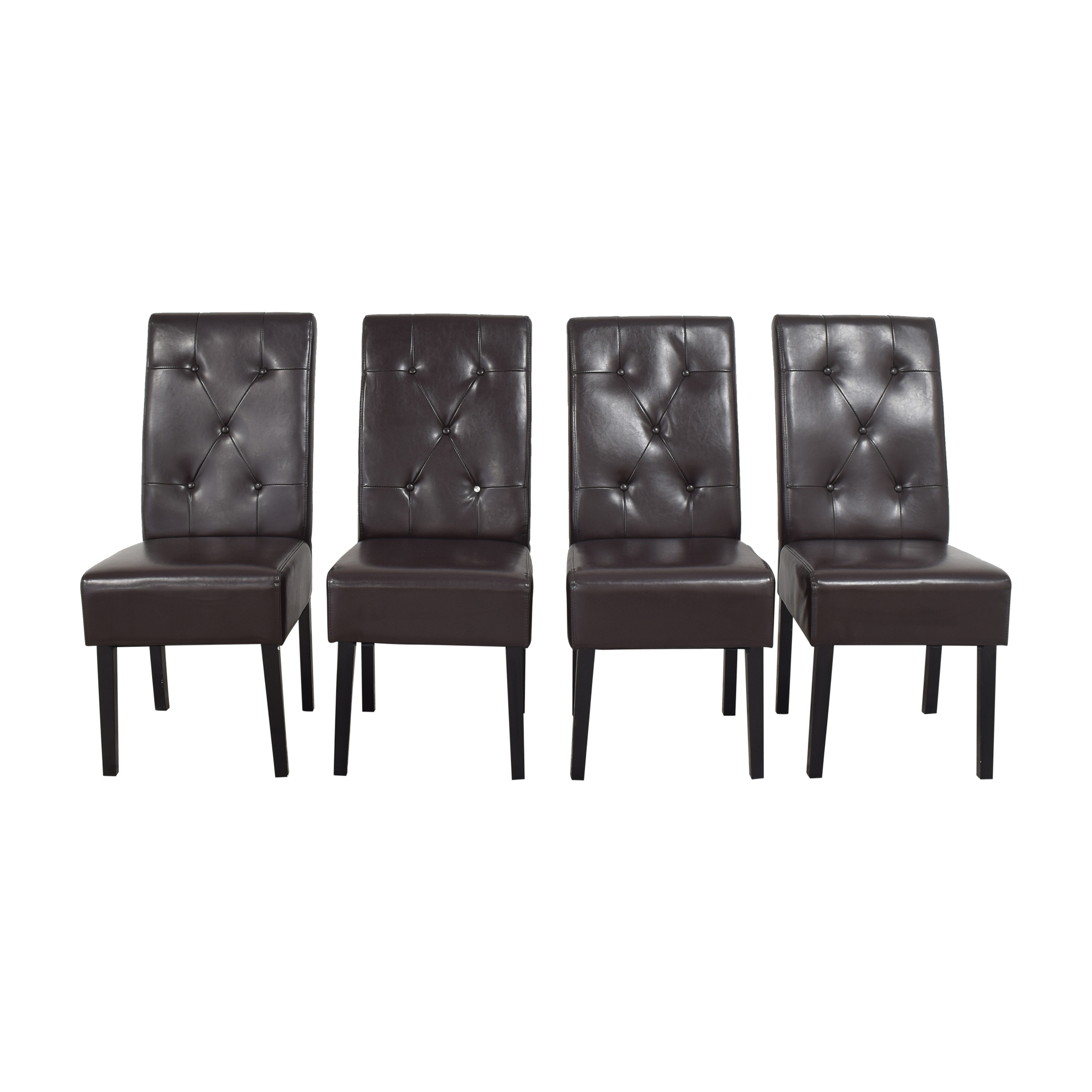 Noble House Gentry Tufted Dining Chairs / Dining Chairs