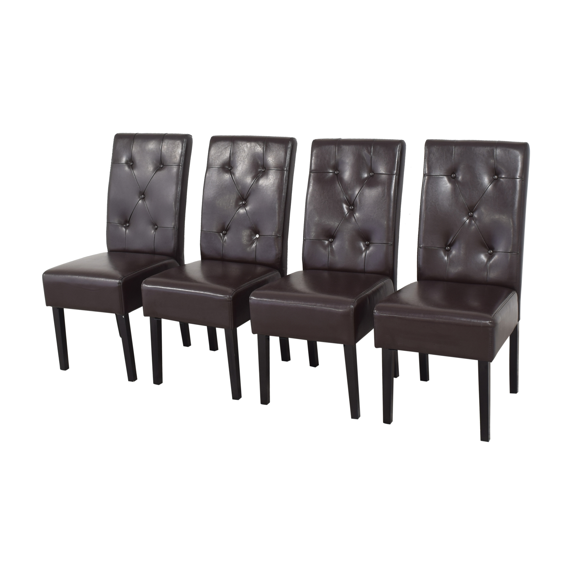 Noble House Gentry Tufted Dining Chairs Noble House