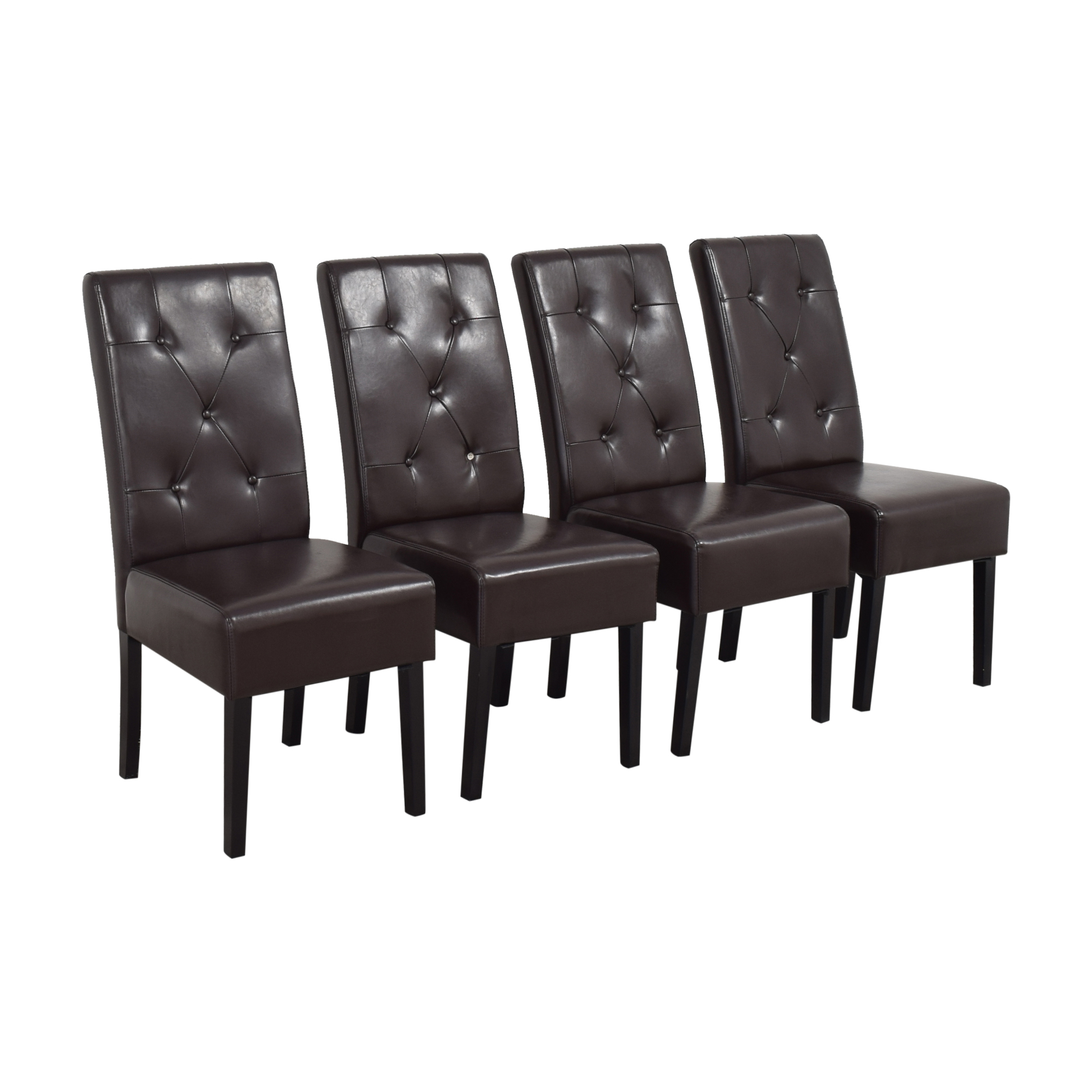 Noble House Noble House Gentry Tufted Dining Chairs coupon