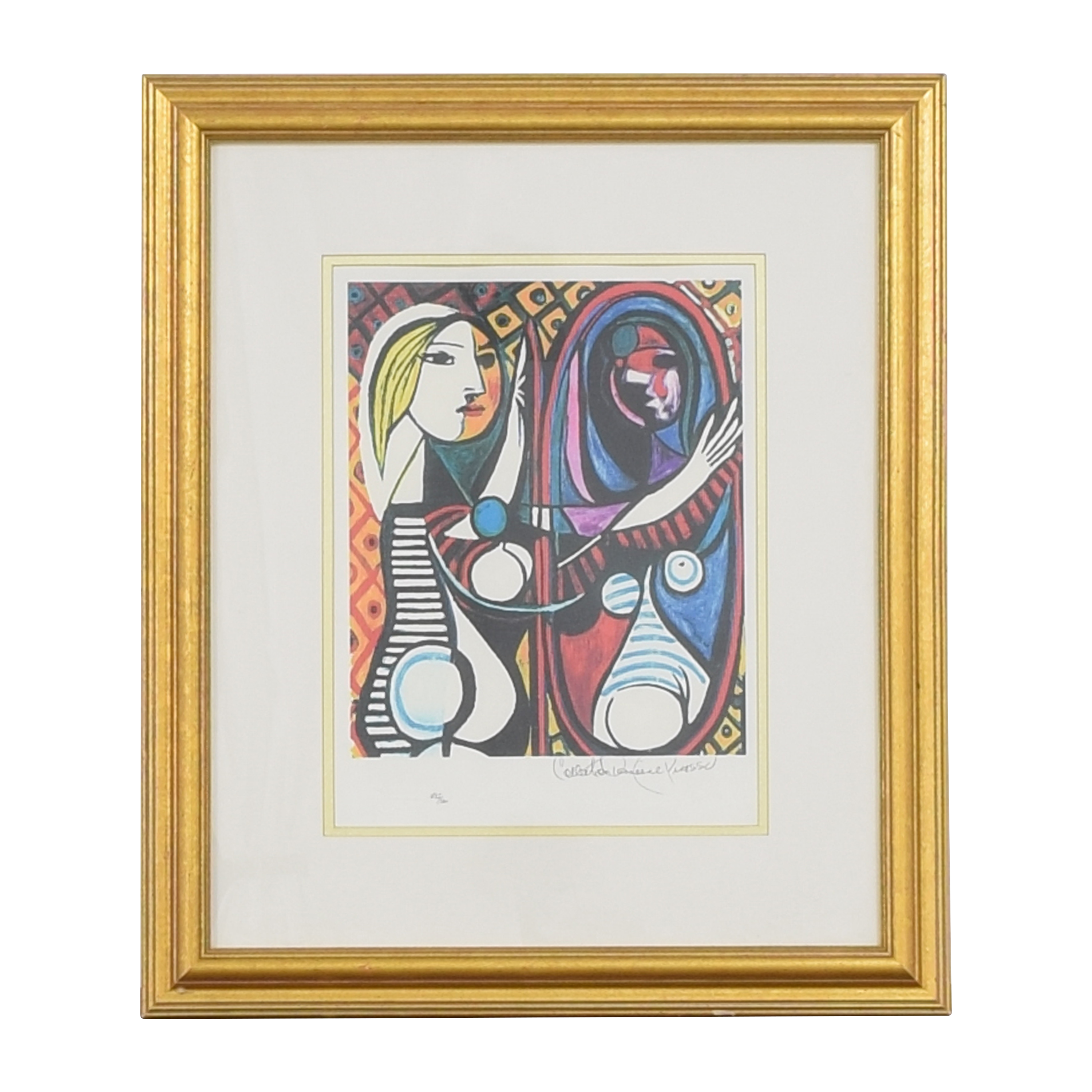 Framed Picasso Print on sale