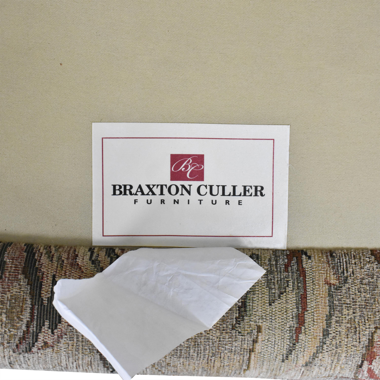 Braxton Culler Braxton Culler Floral Roll Arm Chair
